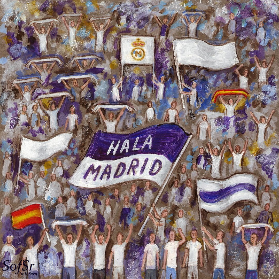 Today I want to tell you about the club s supporters from the south  grandstand of the Santiago Bernabeu stadium. e87523d73