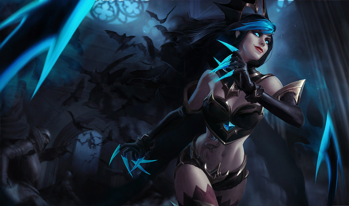 The reworked Evelynn splash art are a feast for your eyes ...