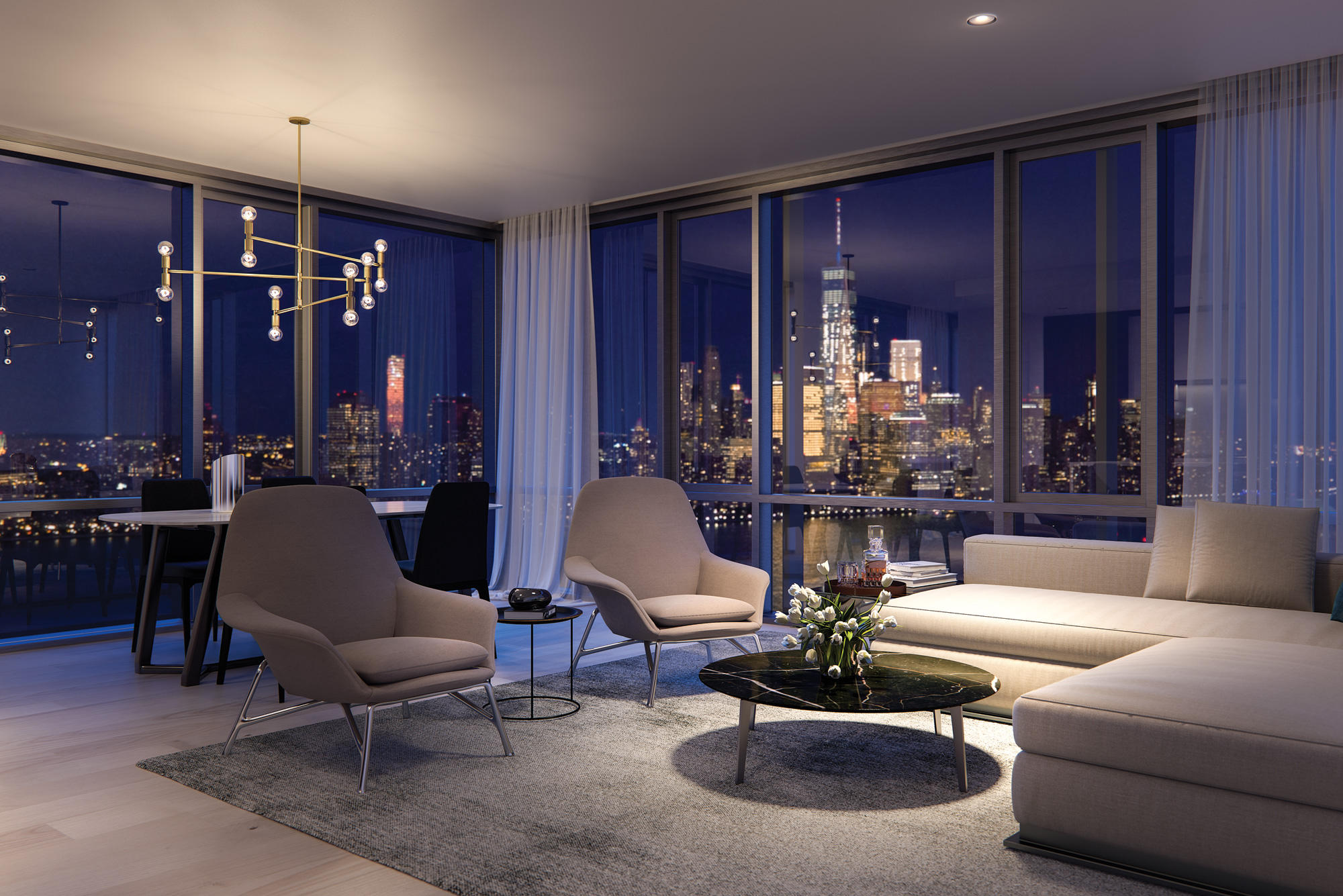 Jersey City S Ultra Luxury Park And Shore Condos Launch