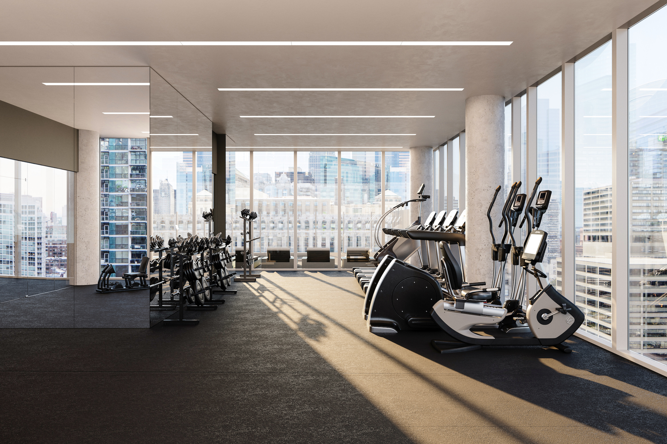 Inside river north s upcoming 3eleven apartments - Three bedroom apartments chicago ...