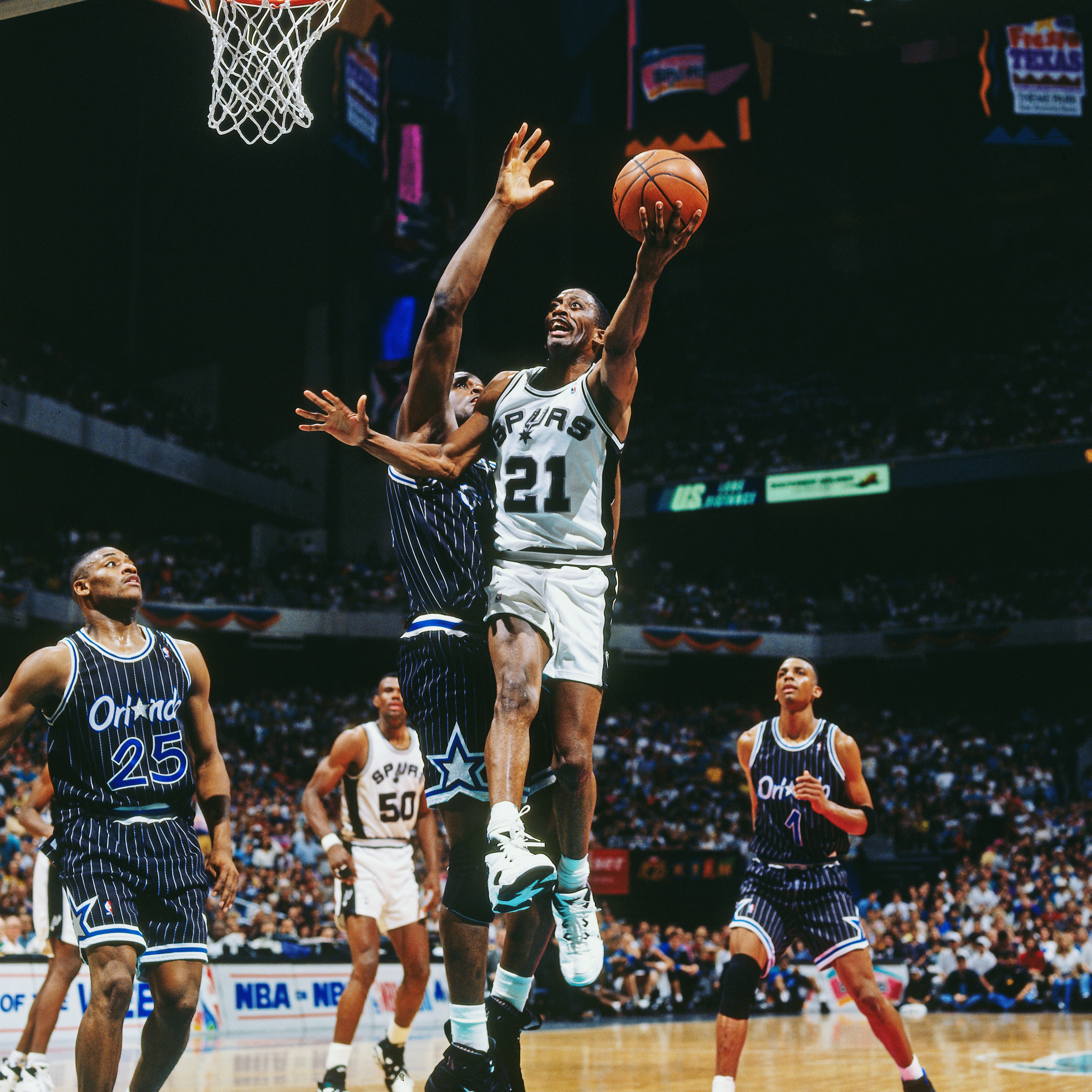 Before Tim Duncan wore 21 Pounding The Rock