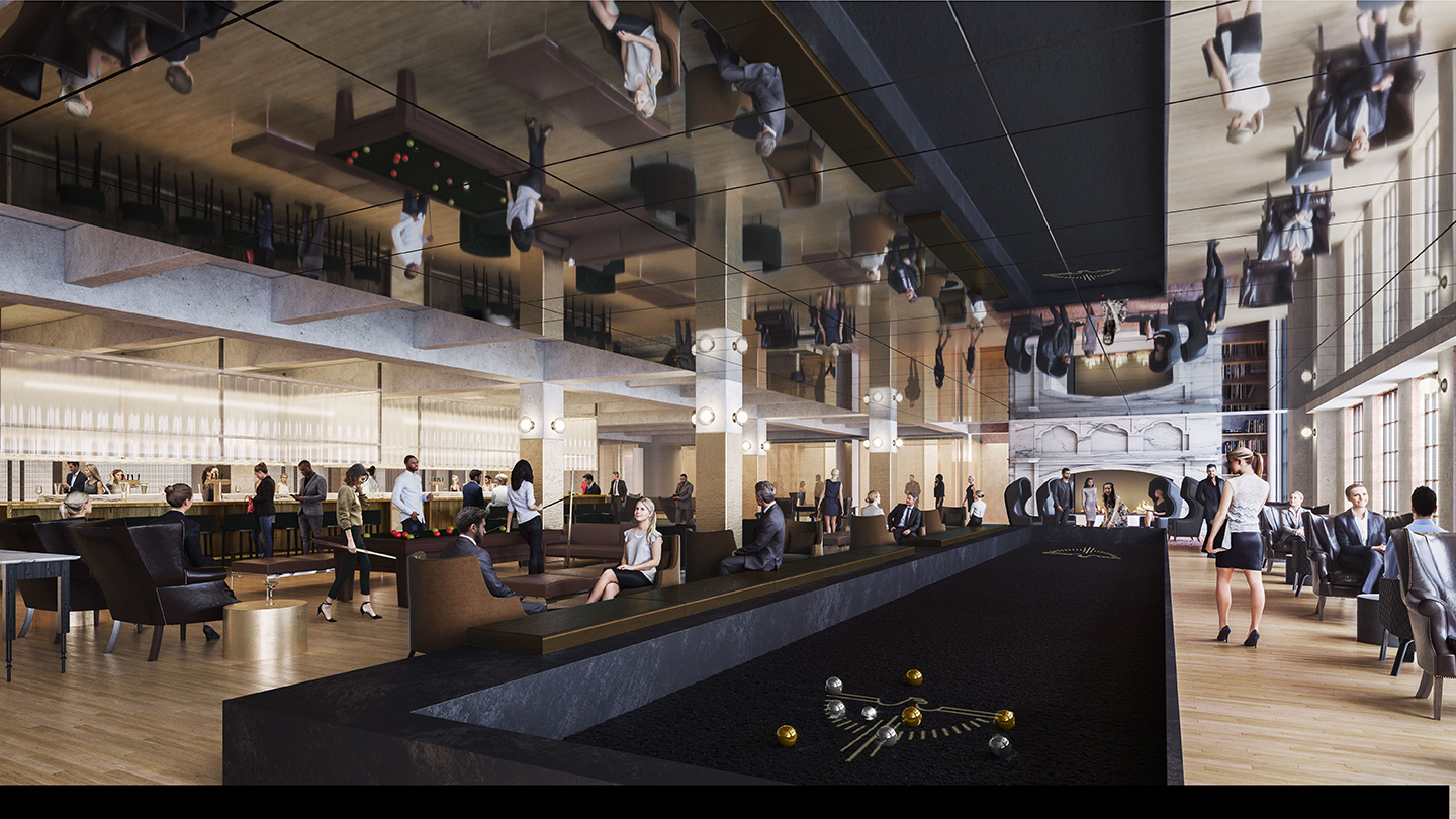 Developer Takes Wraps Off Of Old Chicago Main Post Office Concept Curbed Chicago