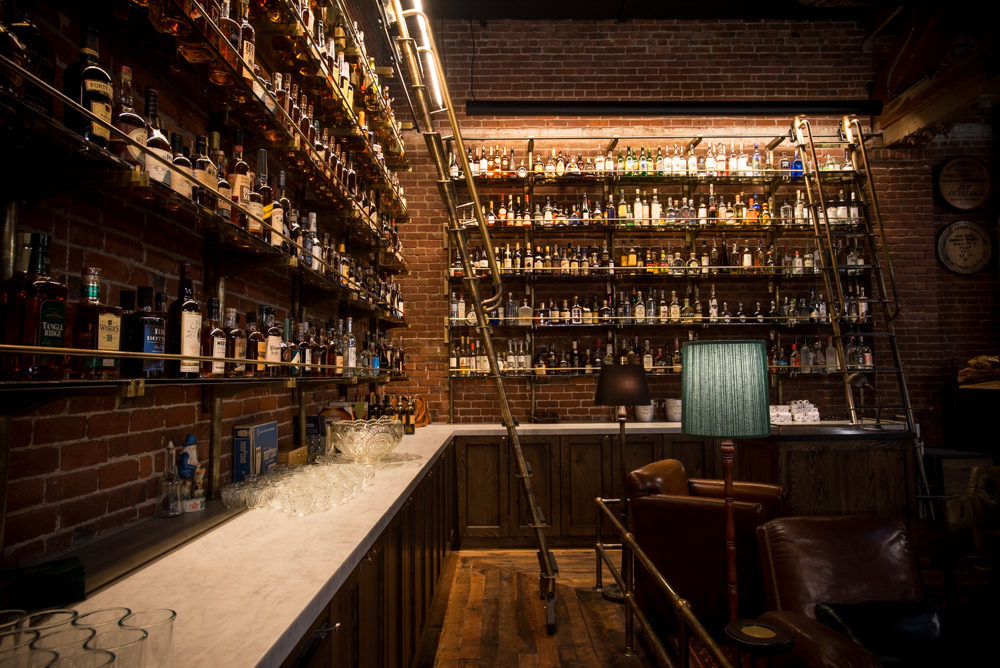 Check Out The 1 500 Bottle Multnomah Whiskey Library