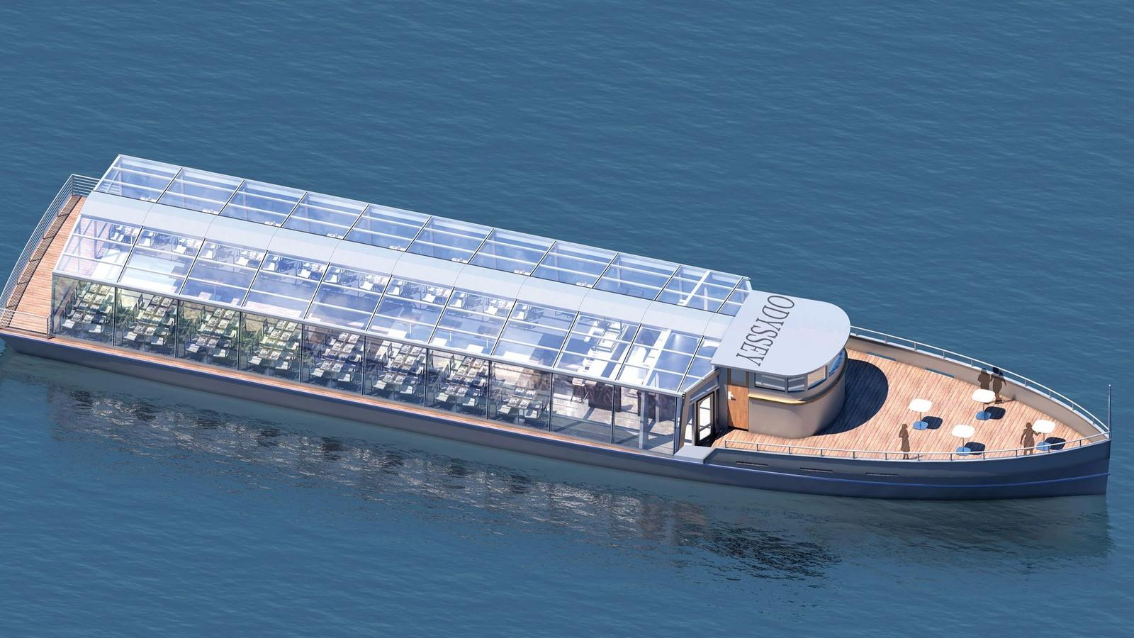 New Glass Topped Boat Will Offer Dinner Cruises On The