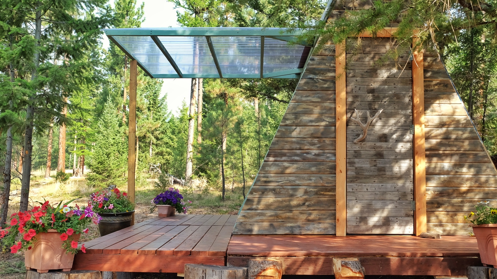 Tiny A frame cabin costs just 700 to build Curbed
