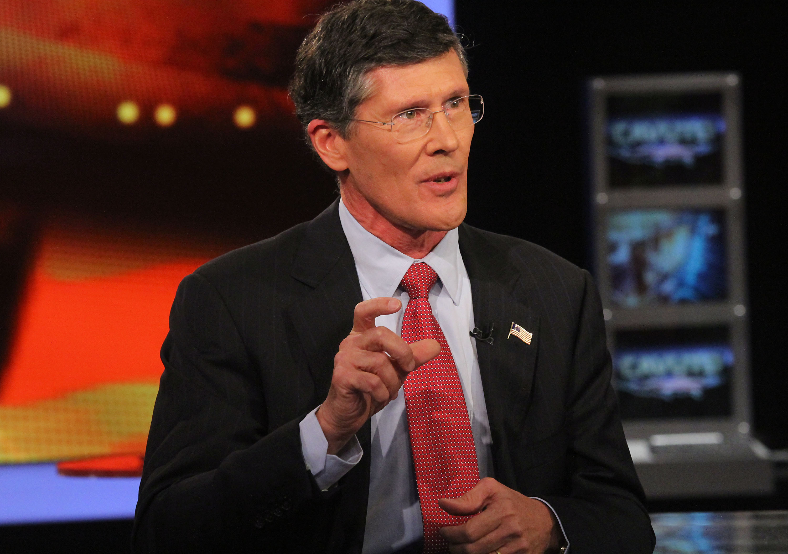 FOX Business Network's Neil Cavuto Interviews Former Merrill Lynch Chief Executive And Current Head Of CIT Group John Thain
