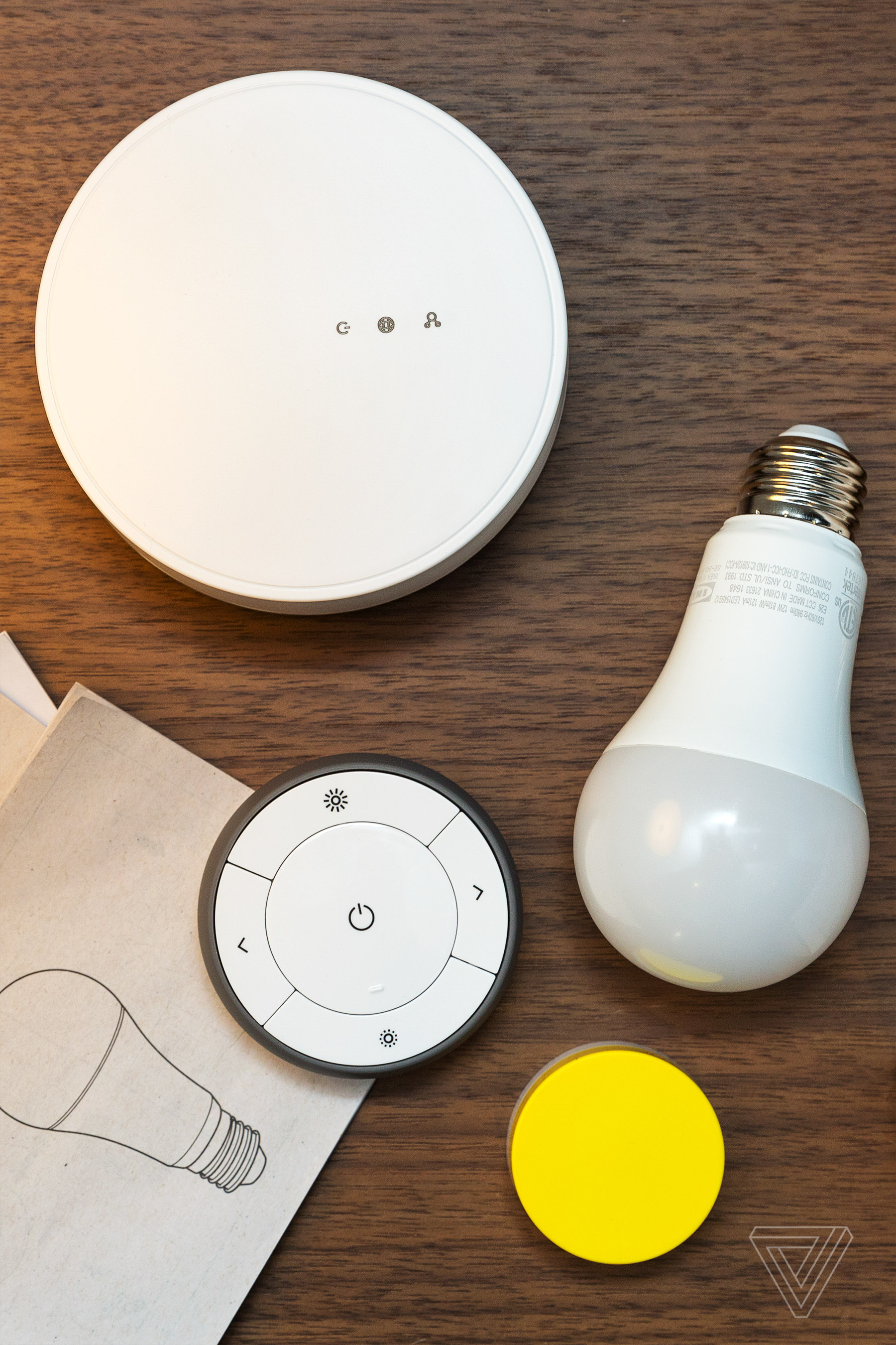 Ikea s smart lights are as stylish and breakable as its furniture