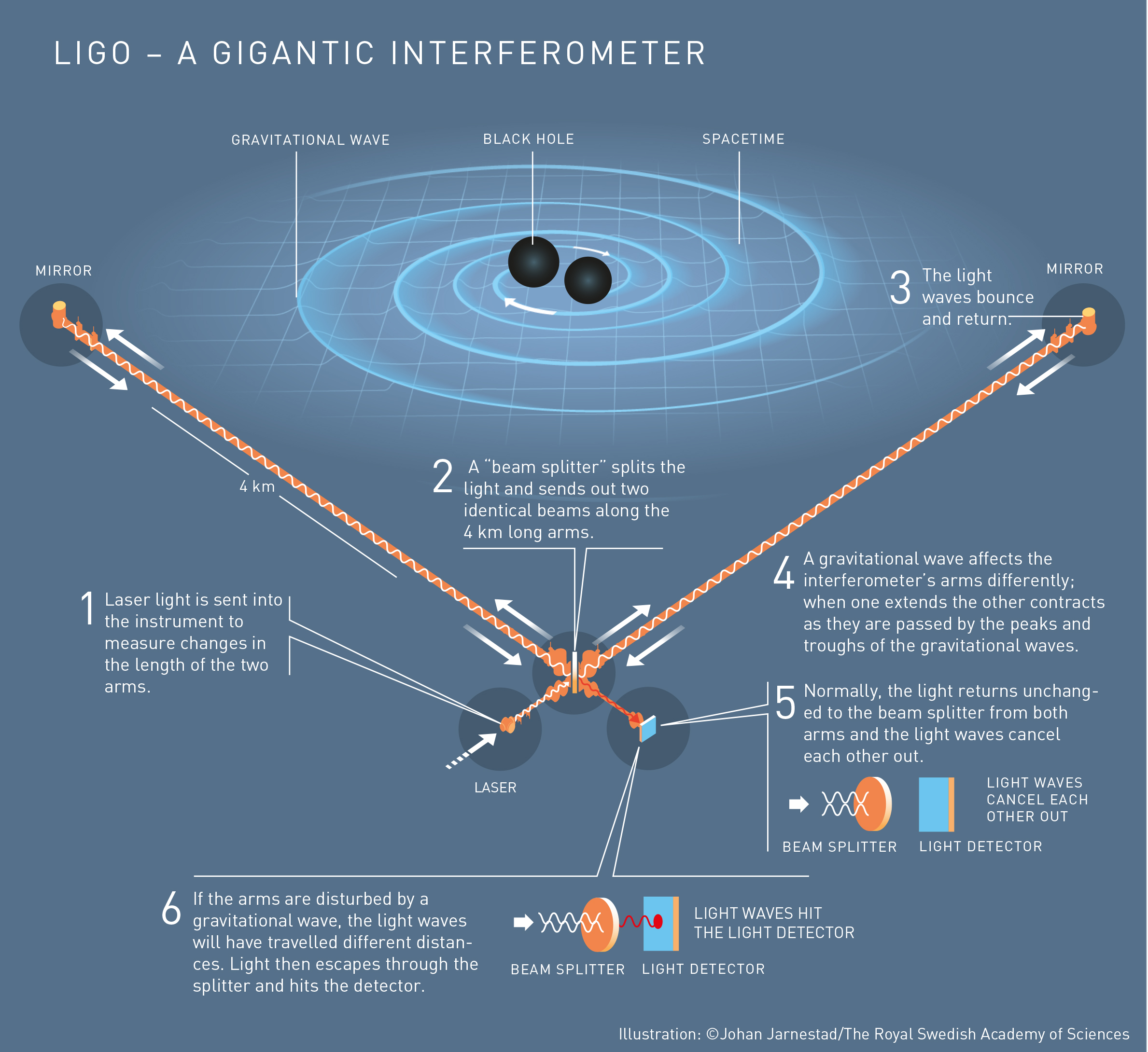The Nobel Prize in physics goes to the discovery of