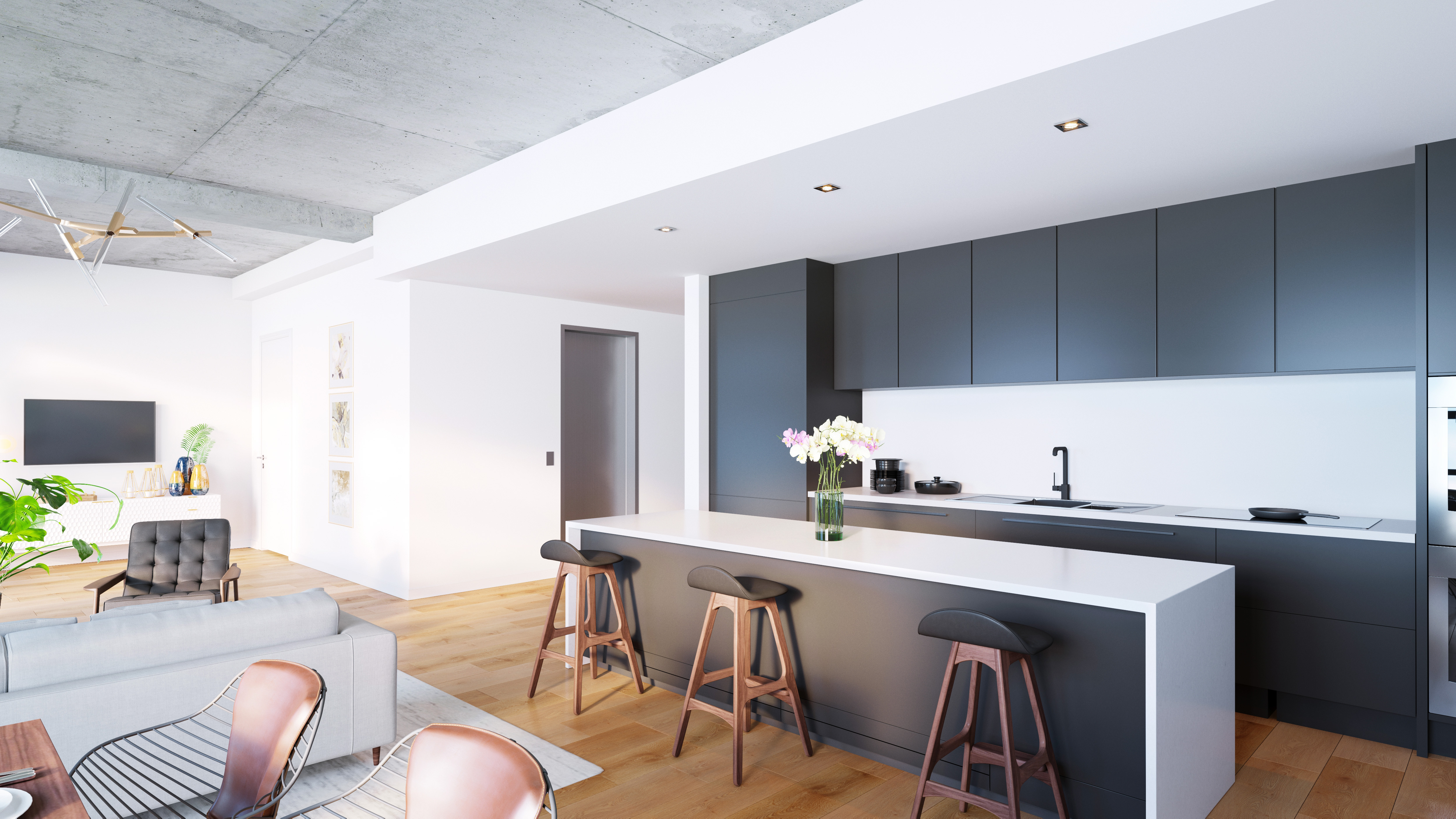 Brooklyn Condos Fit For Families Launch Sales From 1 1m Curbed Ny