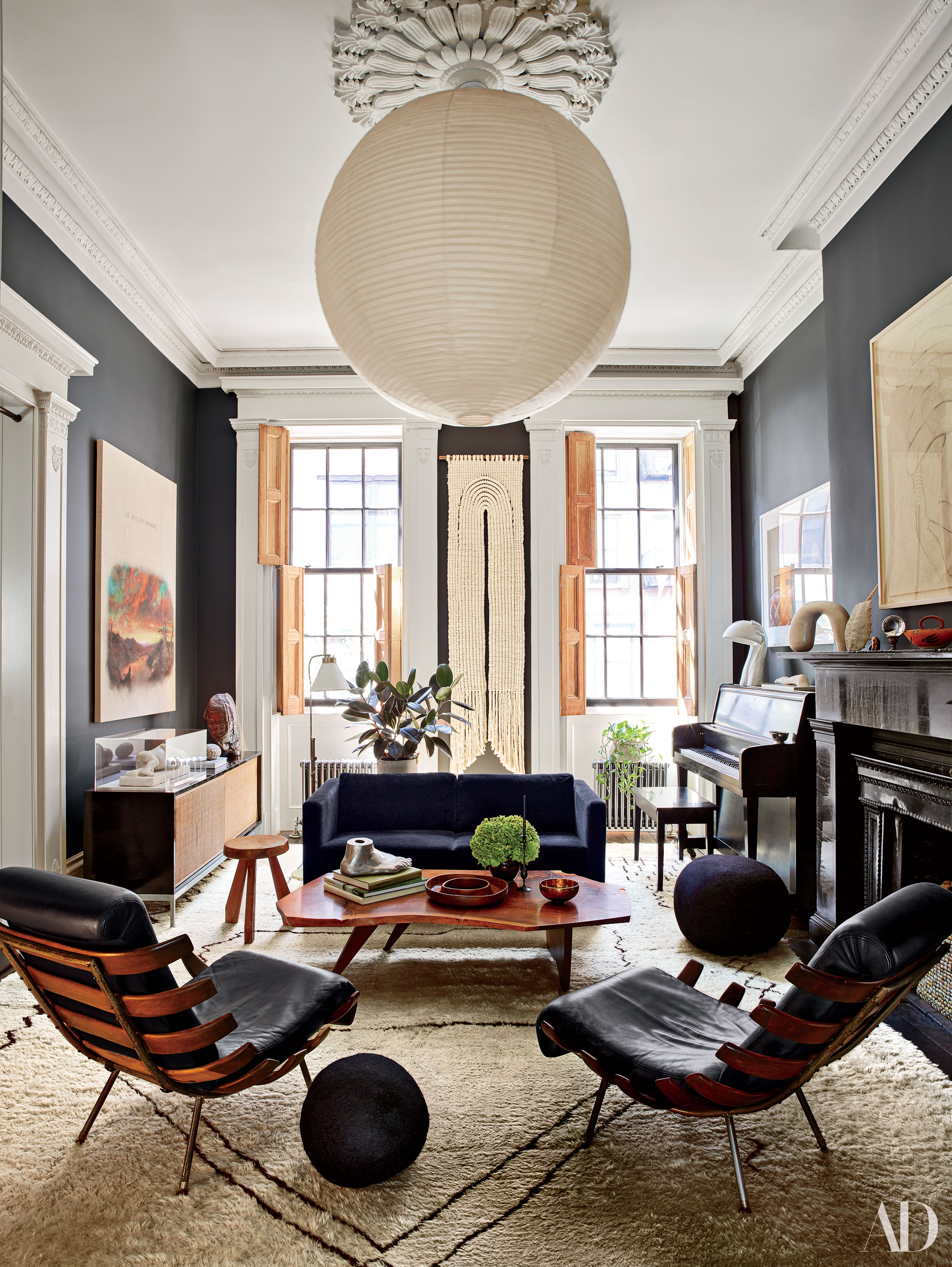 See Inside Julianne Moore S Homey West Village Townhouse Curbed Ny
