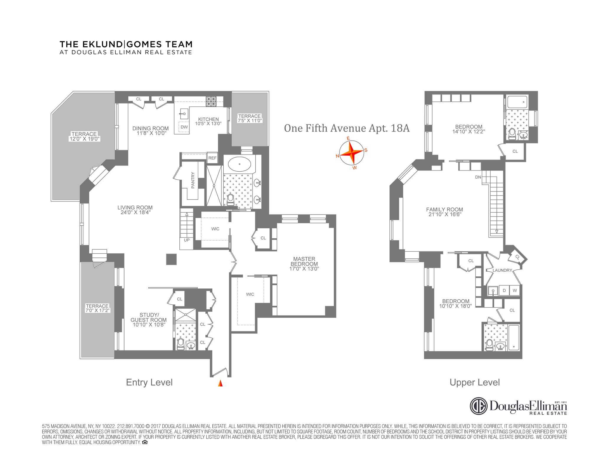 listing 1 fifth avenue 18ab19b elliman