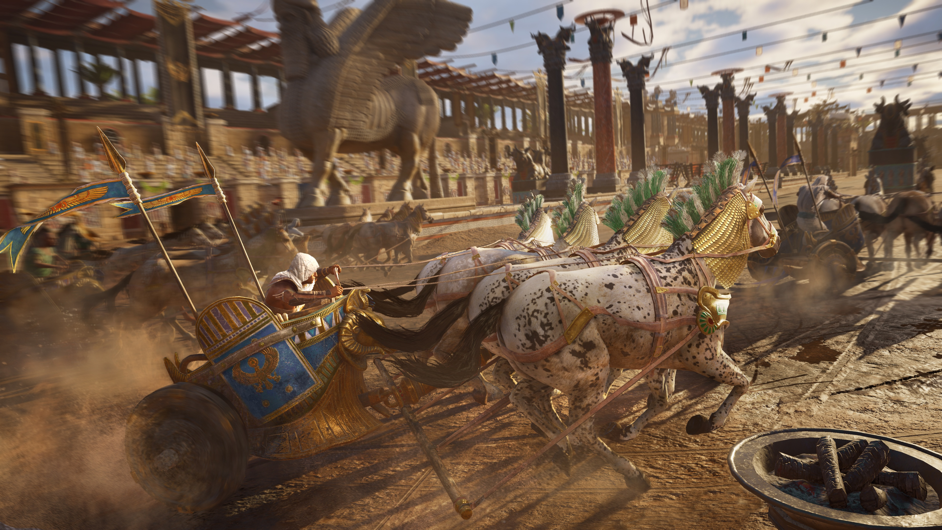 watch 30 minutes of assassin s creed origins 4k gameplay