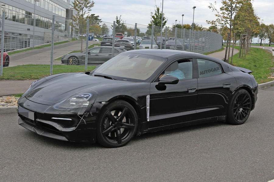 Porsche S Tesla Rival Spotted In The Wild For The First