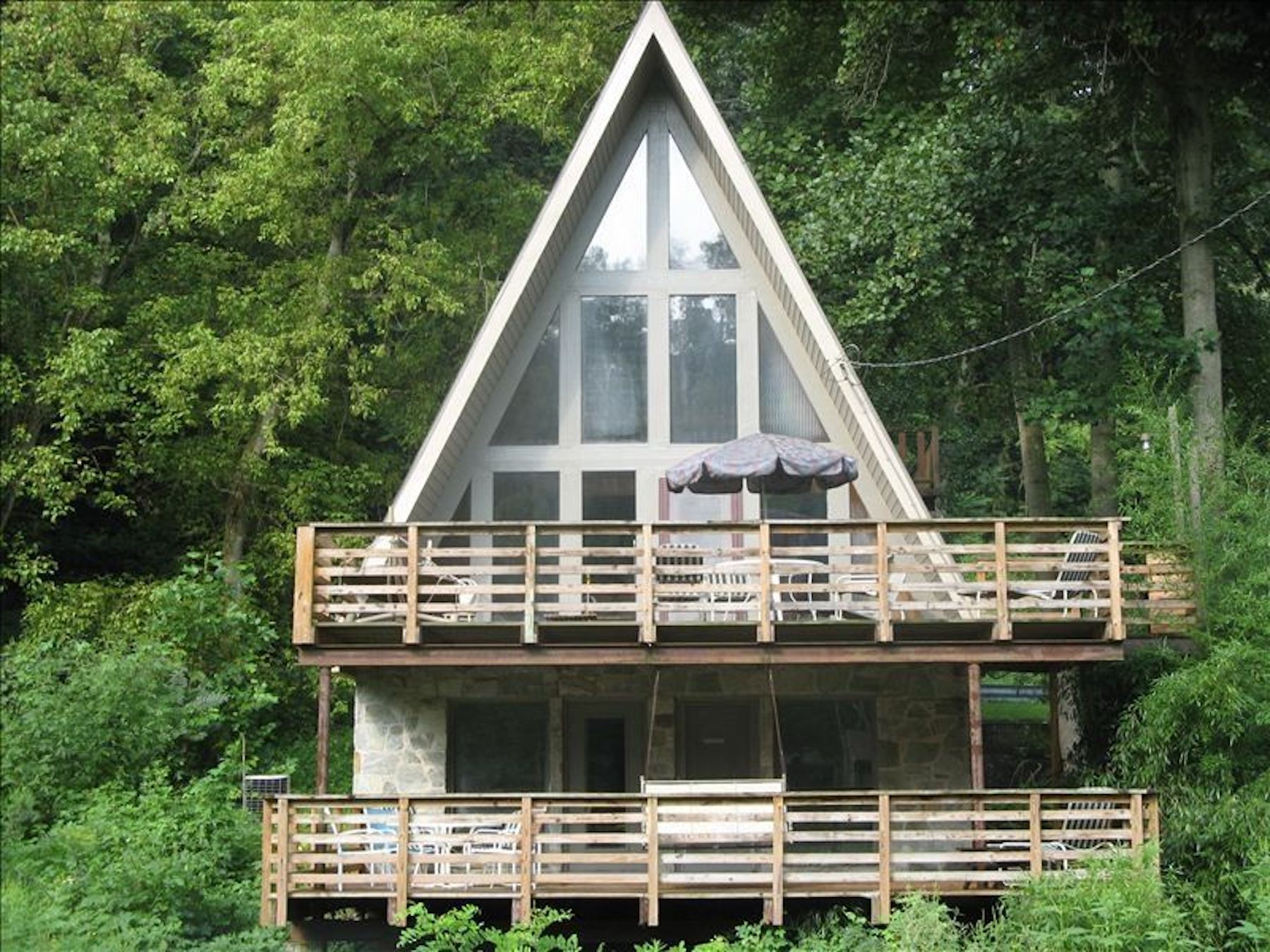 5 a frame cabins to rent near philly curbed philly for Cabin rentals near philadelphia