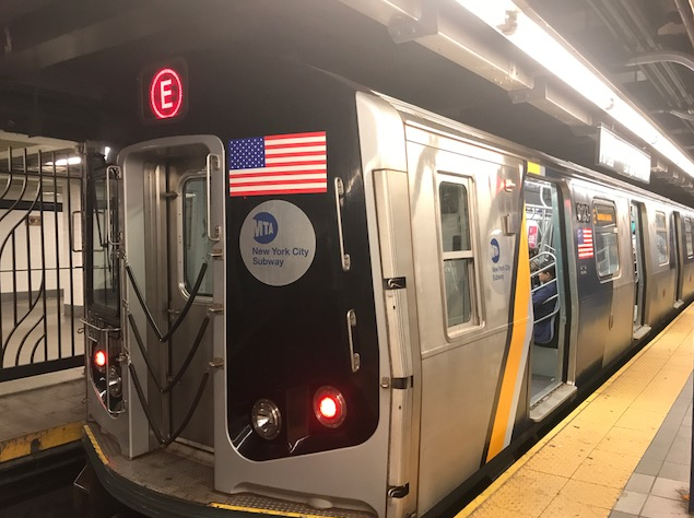 Behold The Mta S New Congestion Easing E Train Curbed Ny