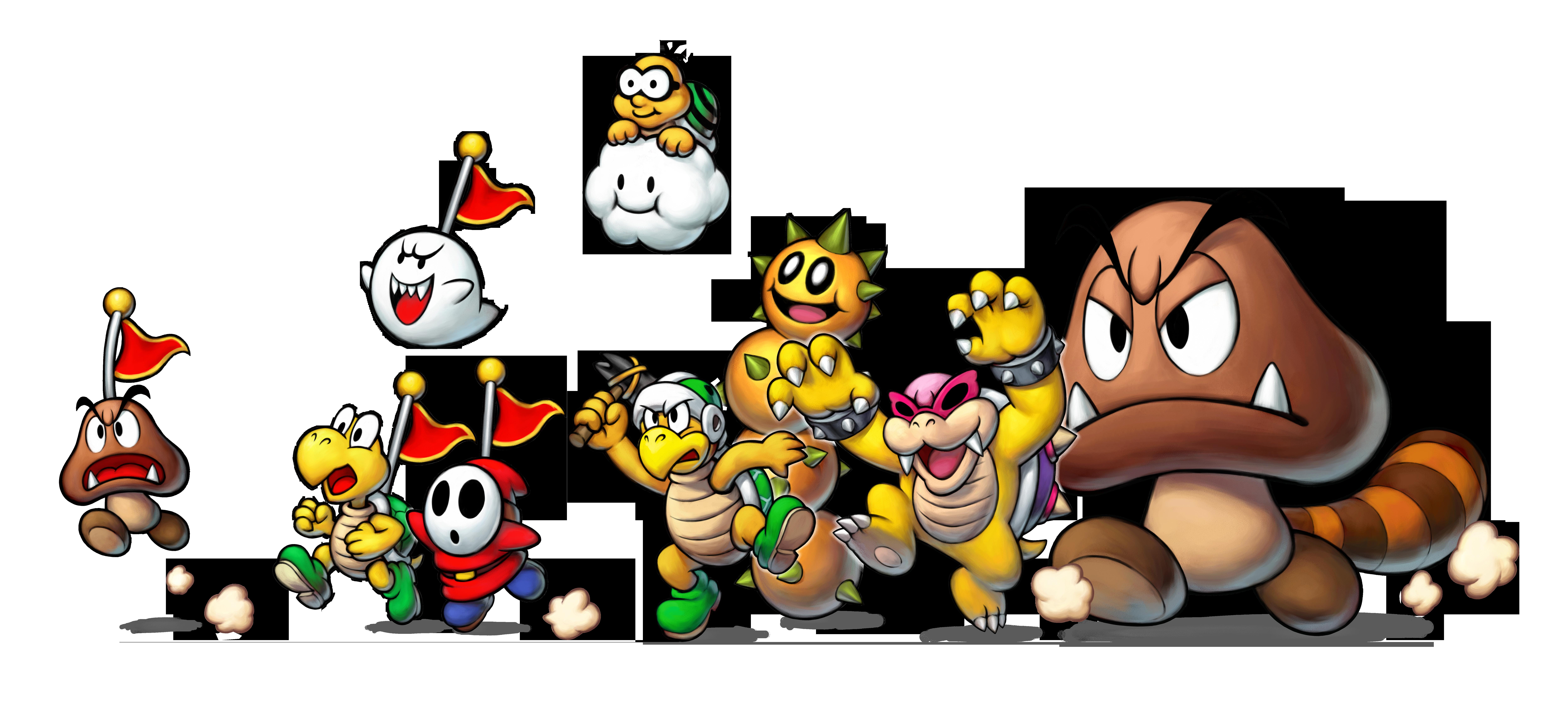 Mario and Luigi Superstar Saga plus Bowser's Minions