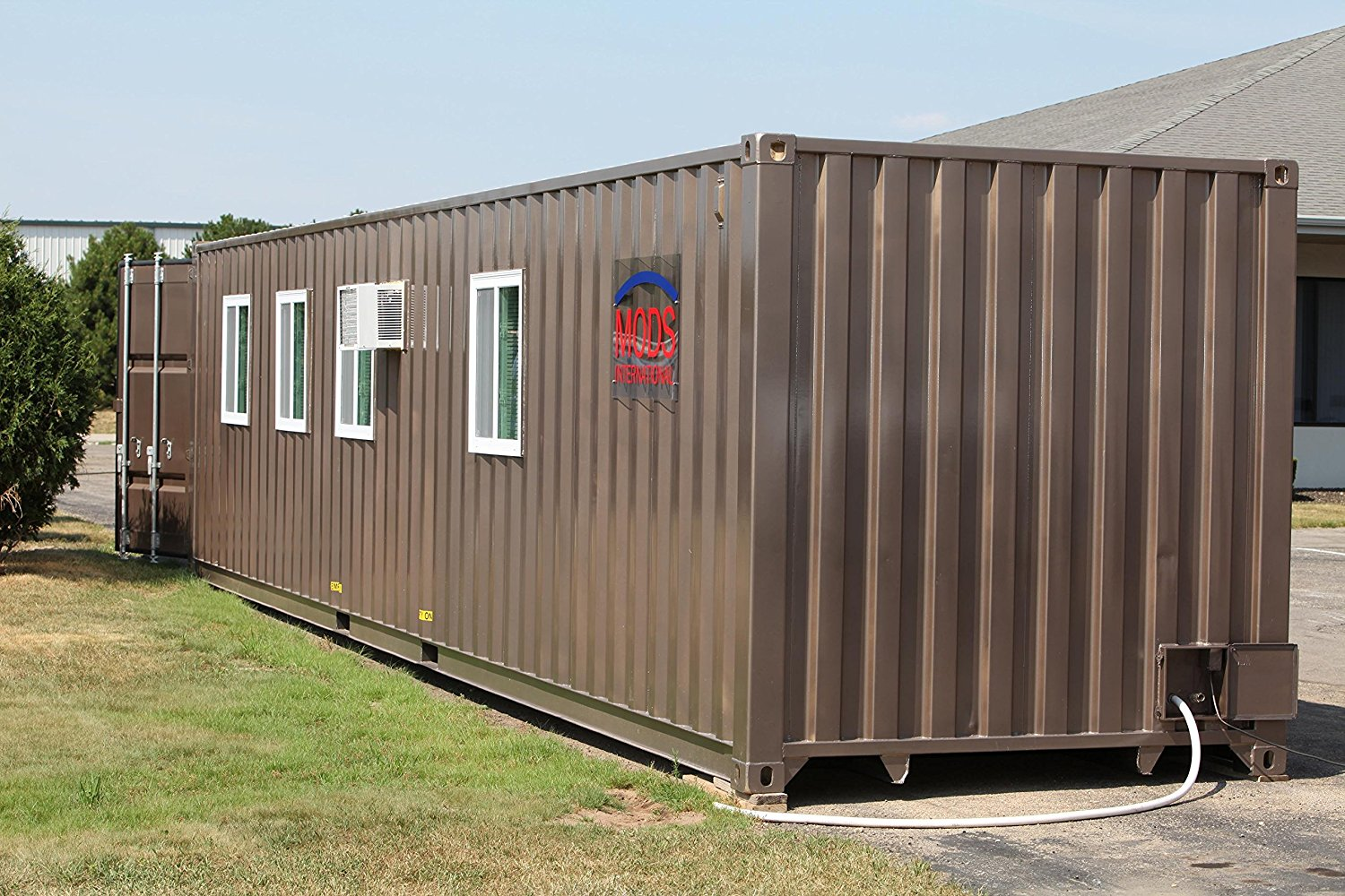 Shipping container house now available on amazon for 36k for Shipping container homes buy