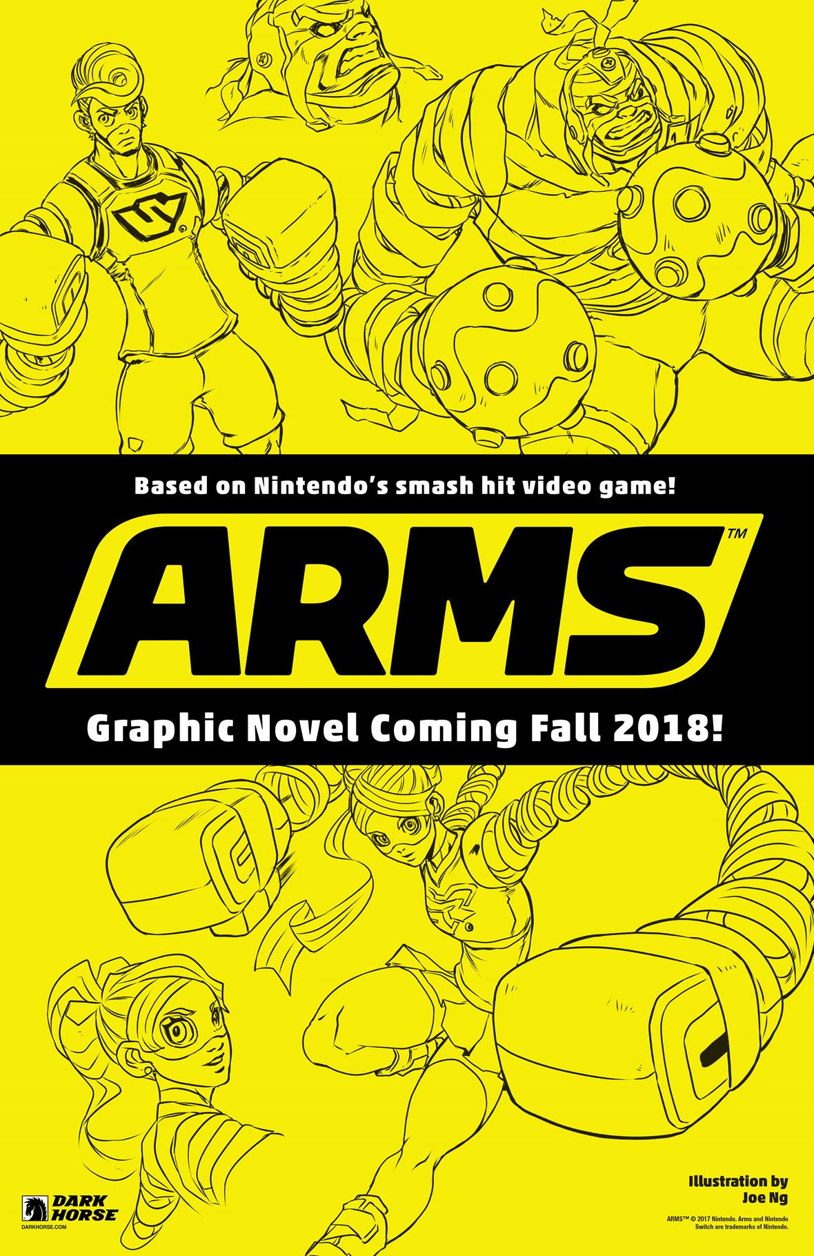Arms graphic novel cover
