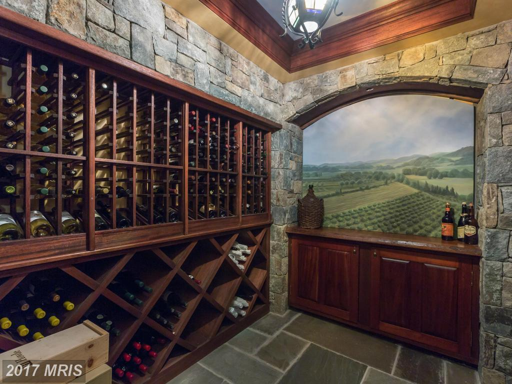 5 d c homes for sale with beautiful wine cellars curbed dc for Cost to build a wine cellar