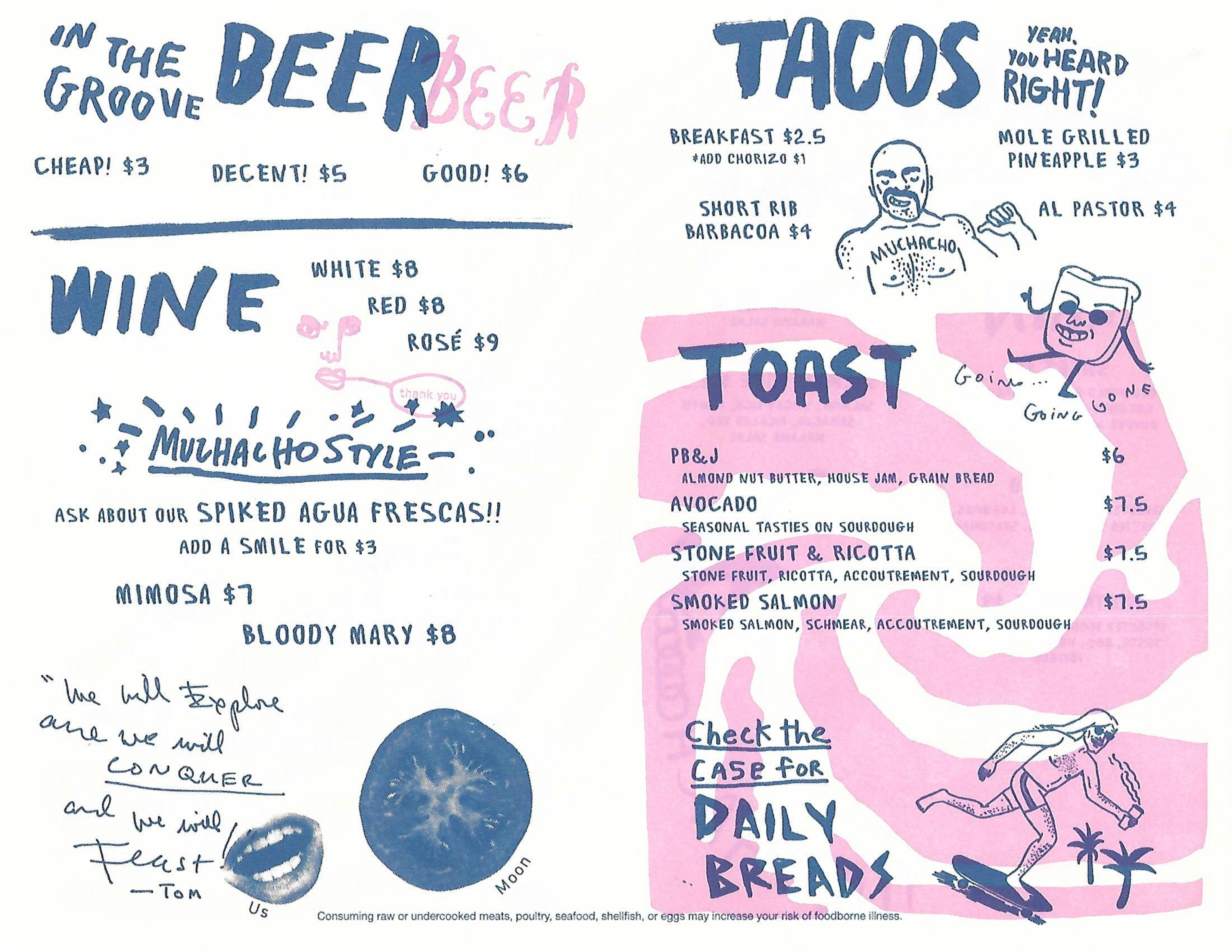 Scope the menu for muchacho opening in the old h harper station ladybird owner will open two restaurants in the former h harper station space eatl ladybird owner expected some resistance to paint job at former h sciox Images