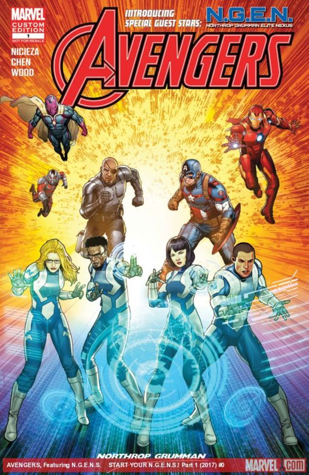Marvel's Northrop Grumman crossover