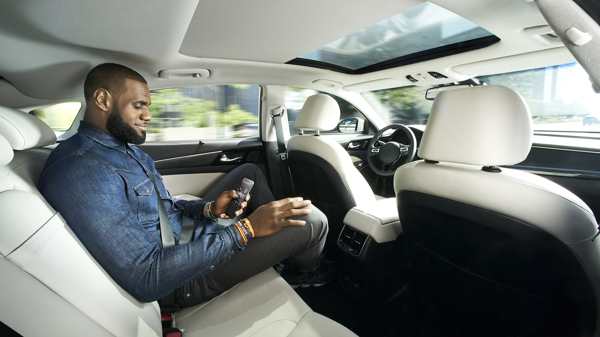 LeBron James Wants to Convince You Self-Driving Cars Won't Kill You