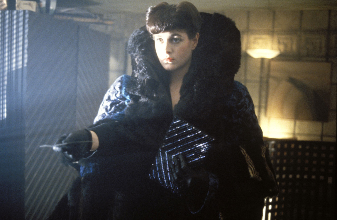 Rachael from Blade Runner - fur coat