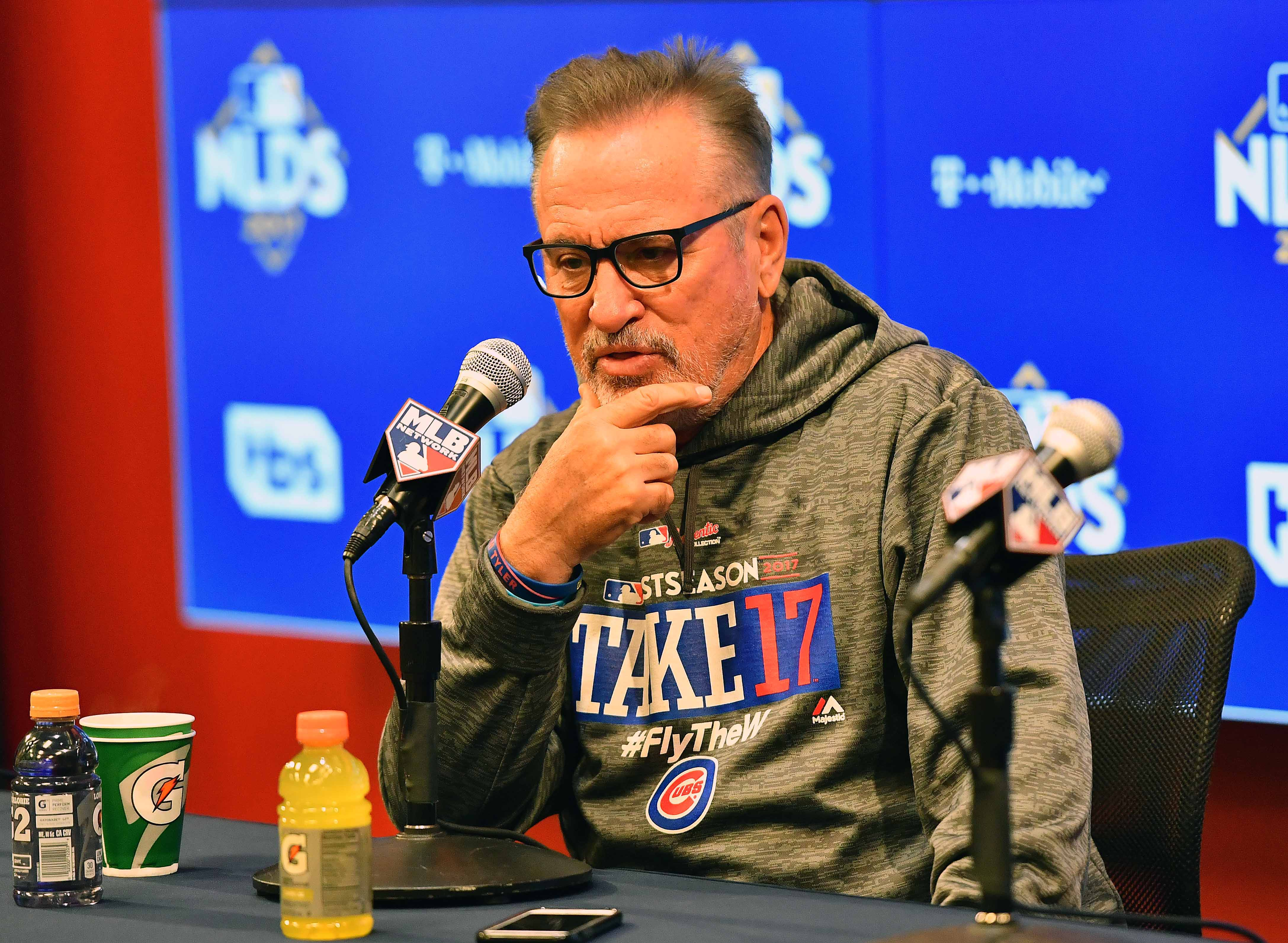 MLB: NLDS-Chicago Cubs Workout
