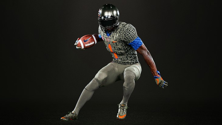 Nike creates Swamp green sneakers with chrome orange plates for Florida
