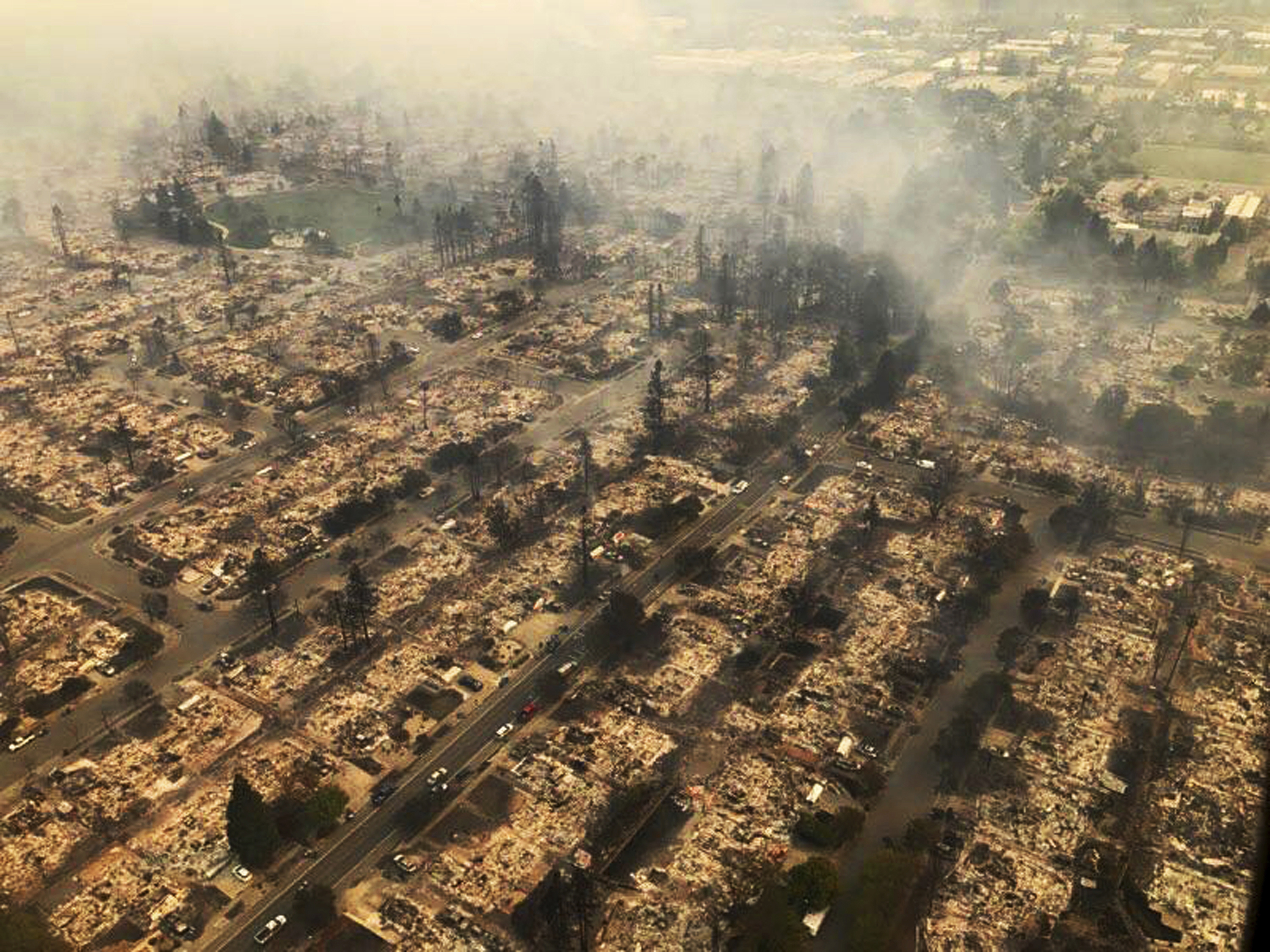 North Bay wildfire before and after photos show devastation
