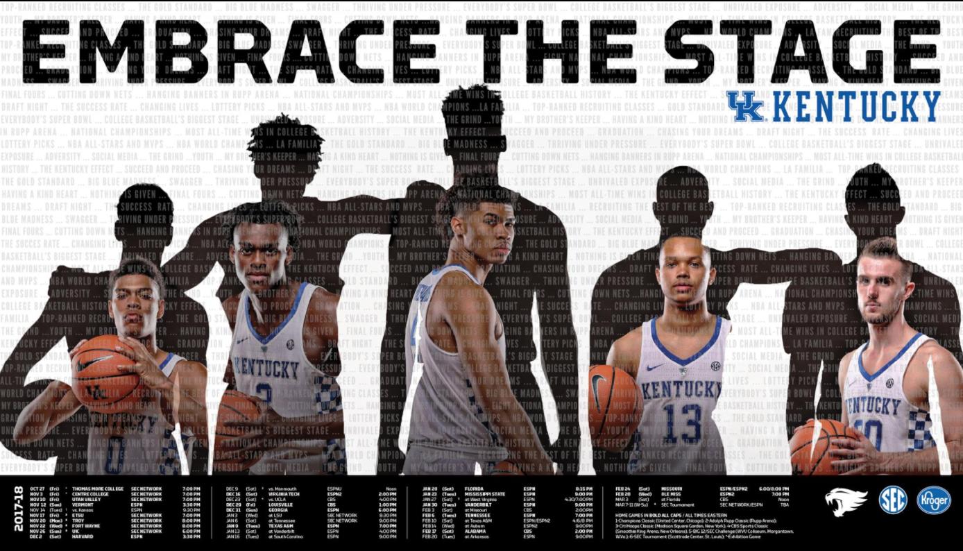 Uk Basketball: Kentucky Basketball Posters Unveiled