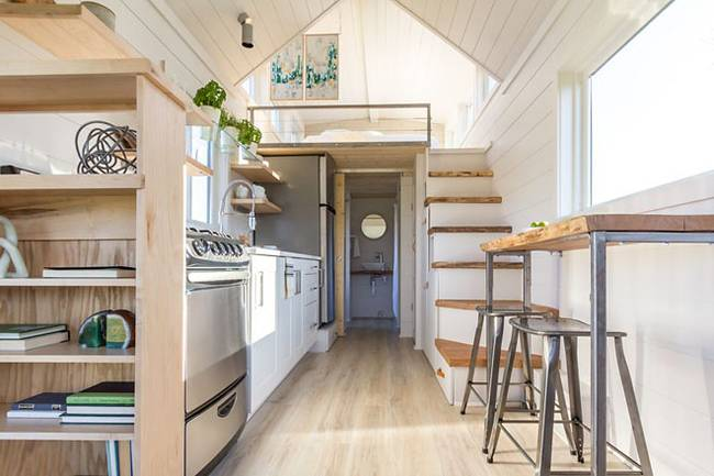 Tiny House Comes With A Greenhouse And Porch Curbed