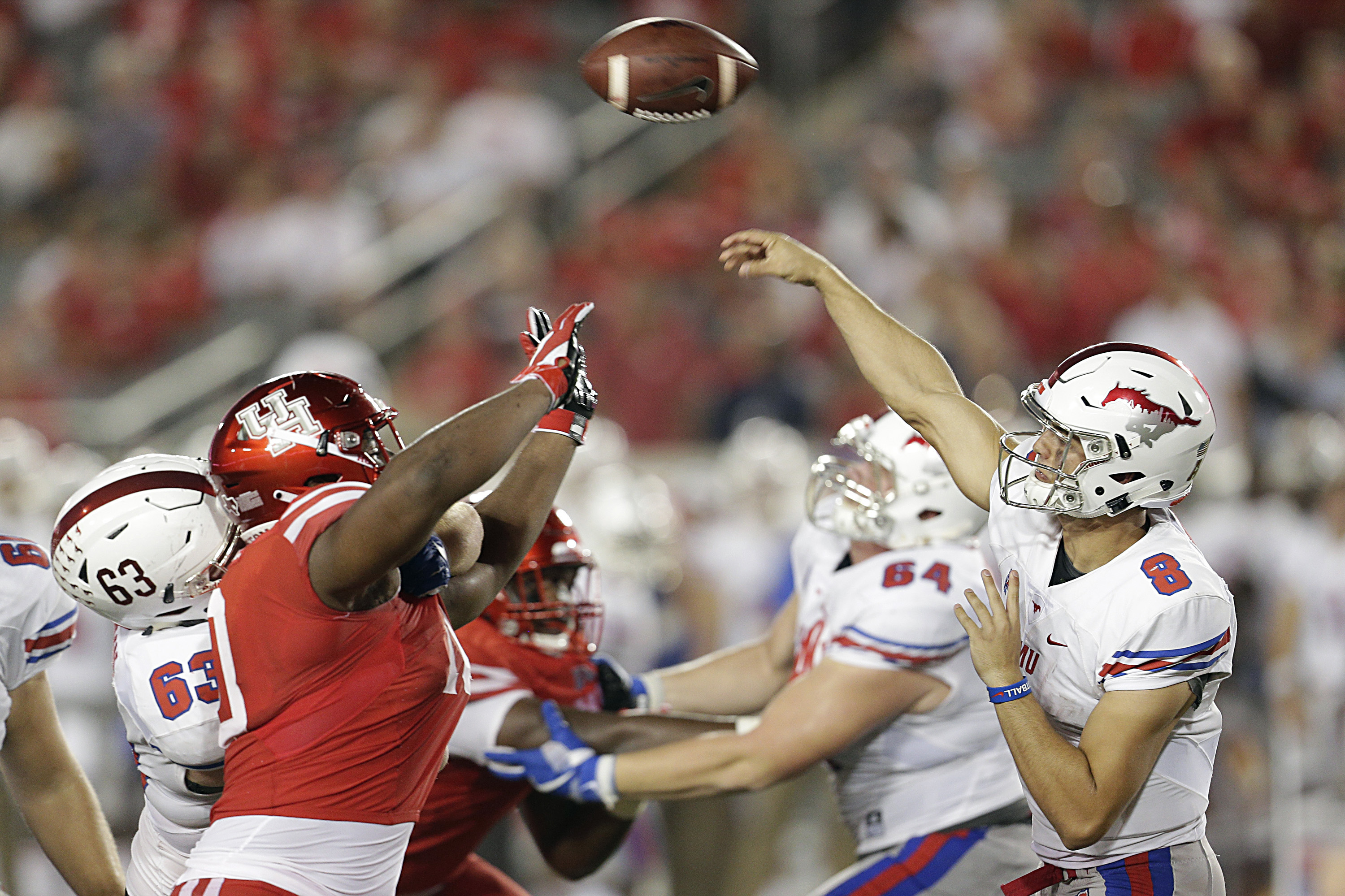 NCAA Football: Southern Methodist at Houston