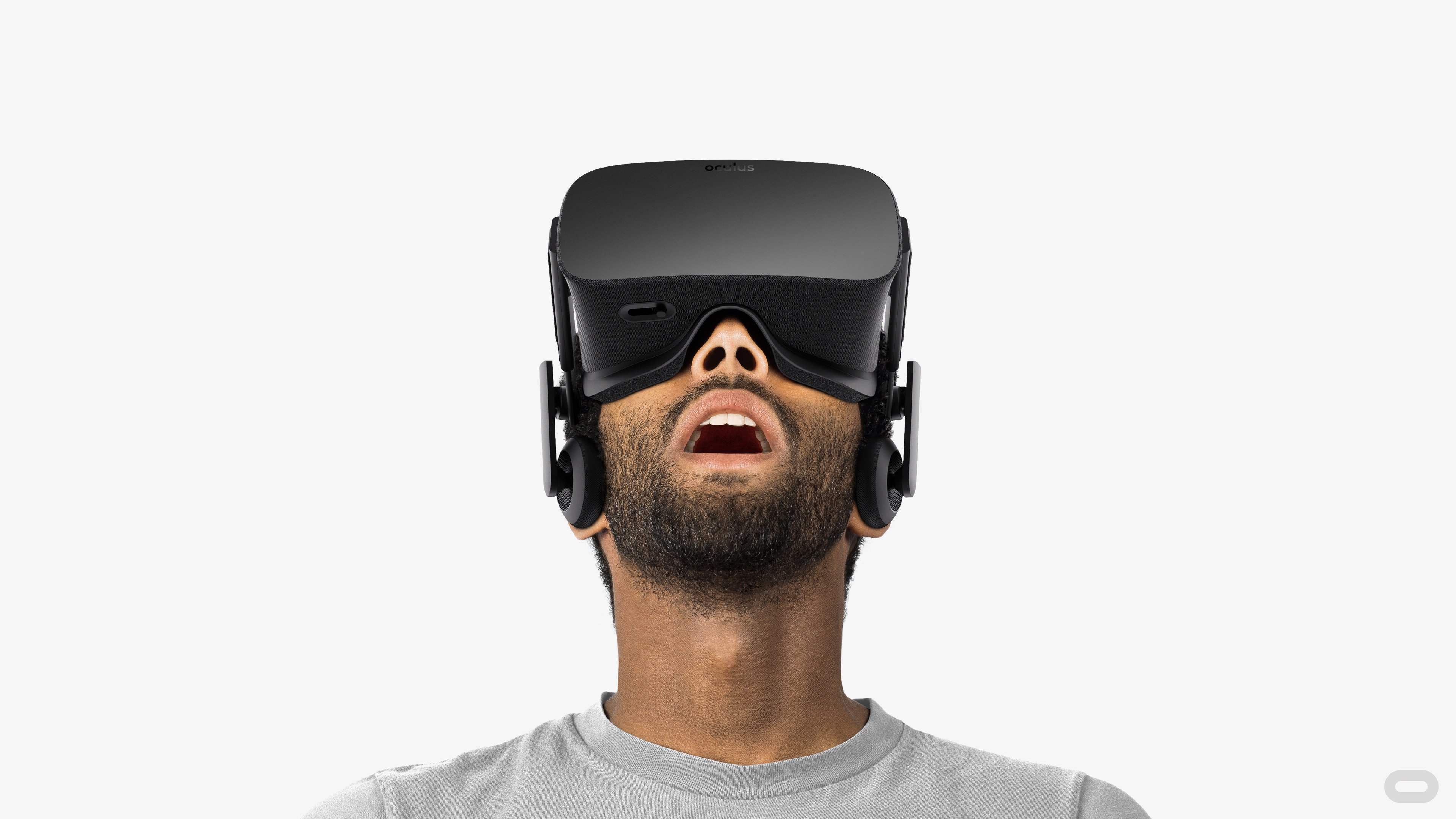 Person using Oculus Rift