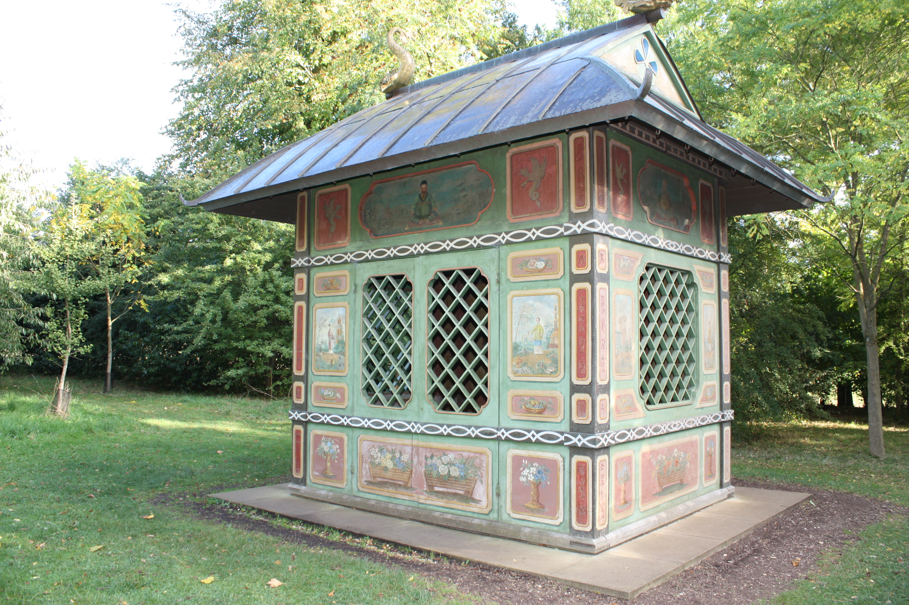 Captivating The Chinese House At Stowe. Courtesy Of National Trust / Perry Lithgow  Partnership