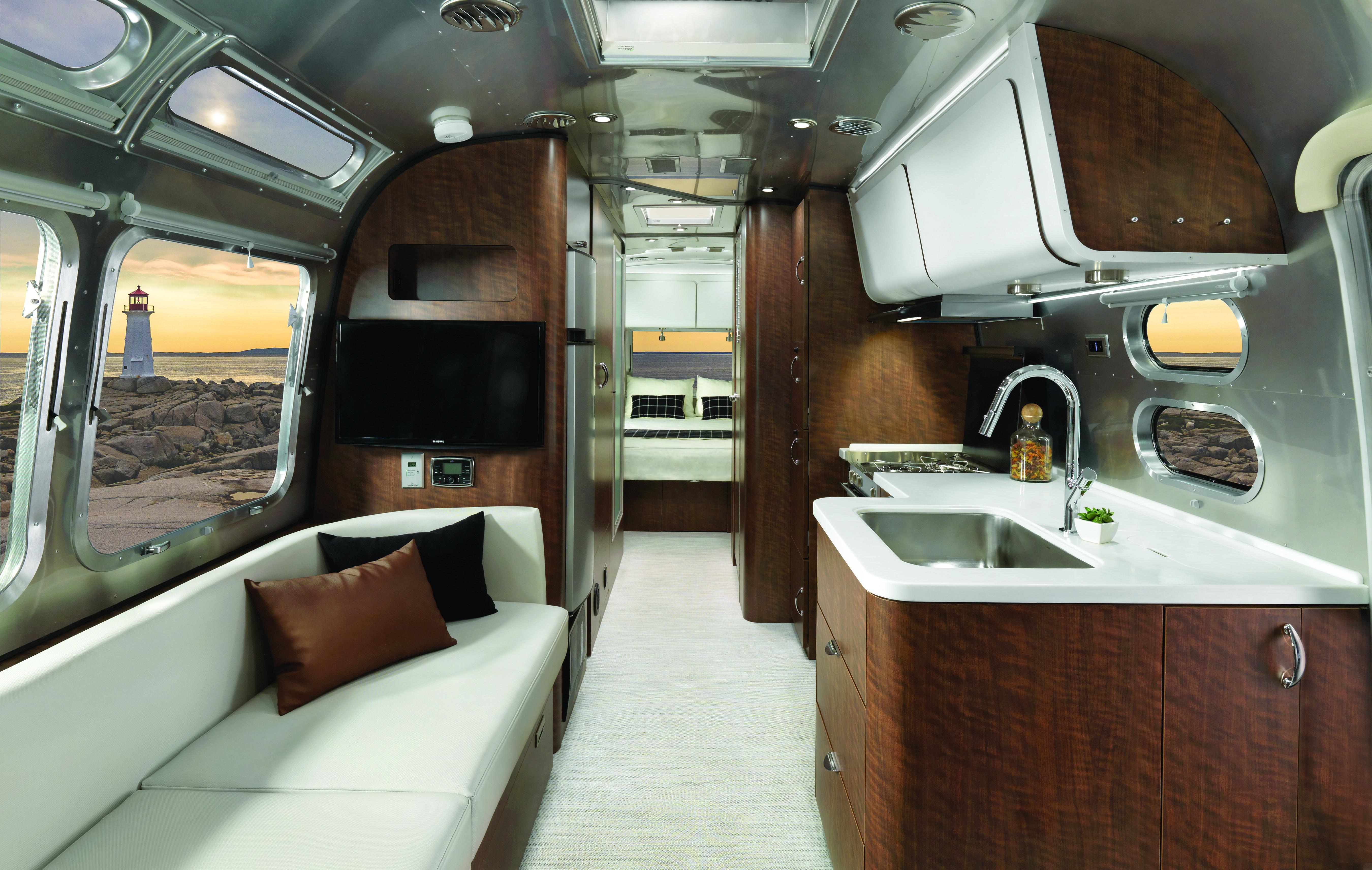 Airstream Debuts New European Inspired Travel Trailer