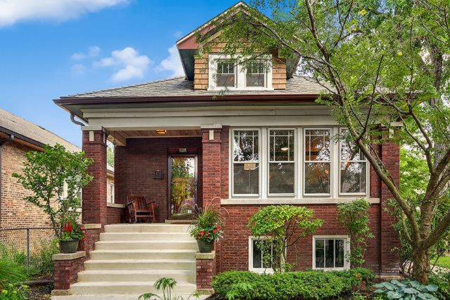 Situated On A Large Corner Lot In The Quiet Albany Park Neighborhood This Quintessential Brick Chicago Style Bungalow Offers Plenty To Like And Decent