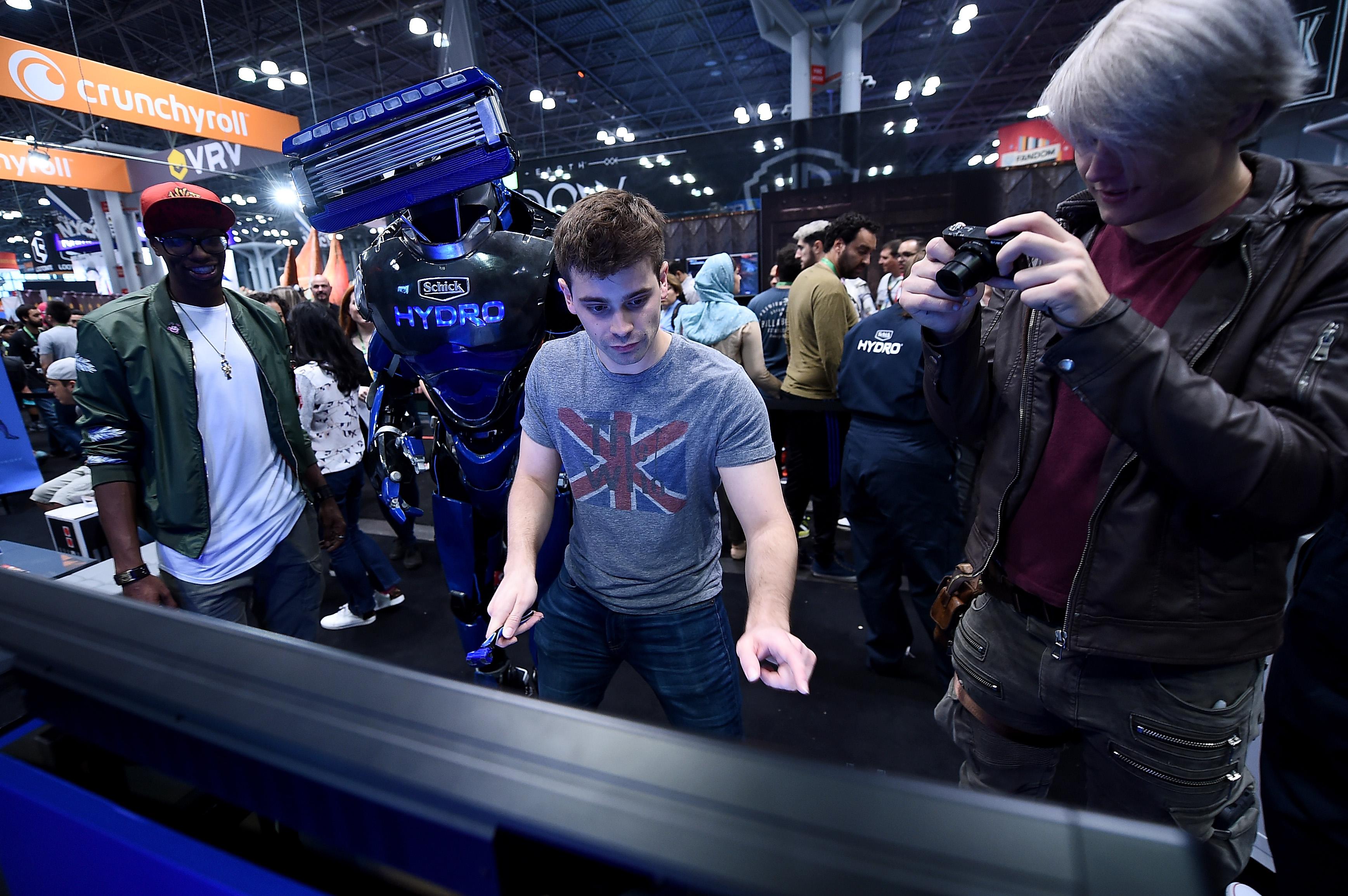 Schick Hydro At New York Comic-Con 2017