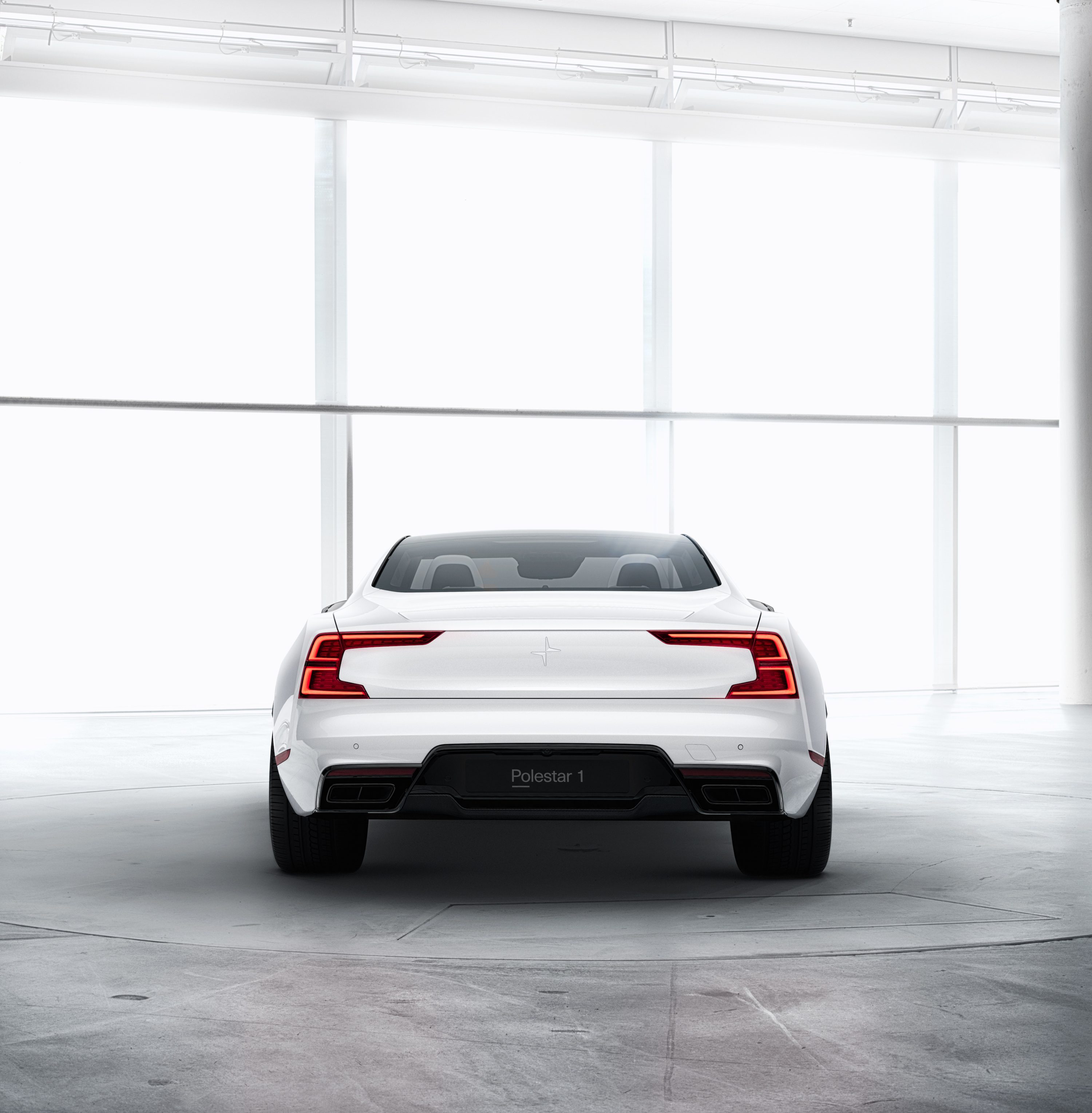 Volvo Car Wallpaper: The Polestar 1 Is A 600-horsepower Hybrid Sports Coupe