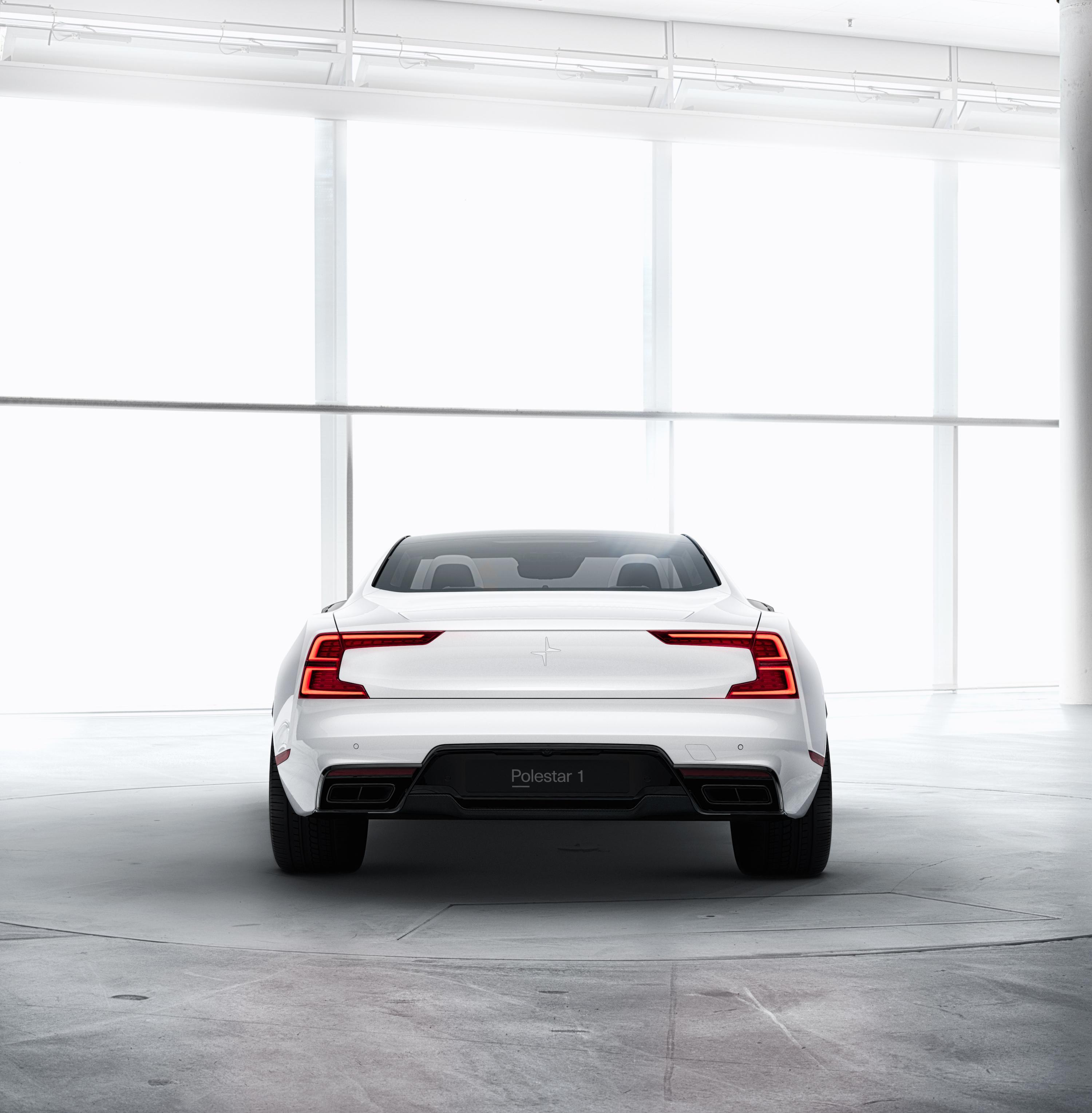 Polestar Reveals New Polestar 2: The Polestar 1 Is A 600-horsepower Hybrid Sports Coupe
