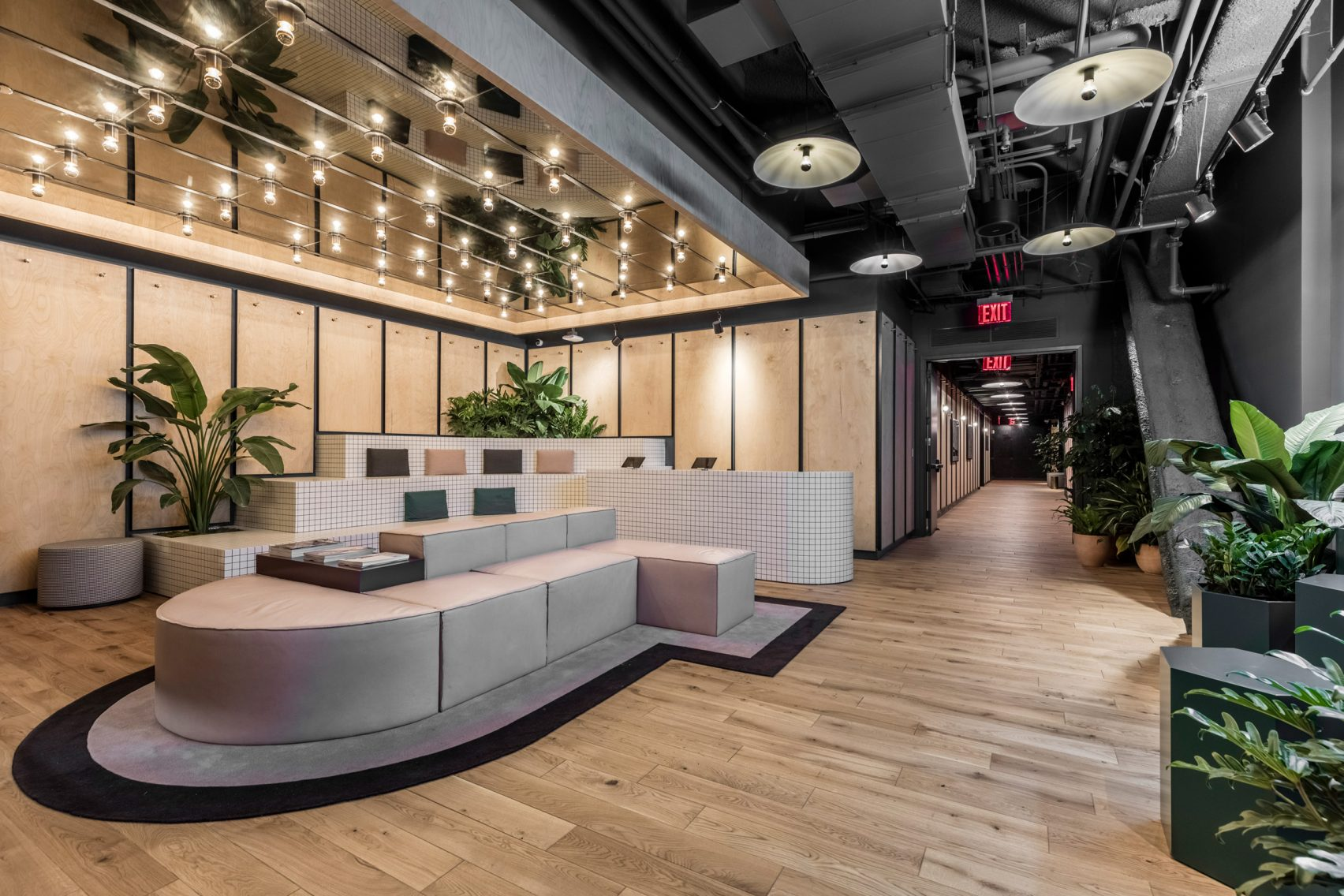 Wework S First Gym In Opens In New York City S Financial