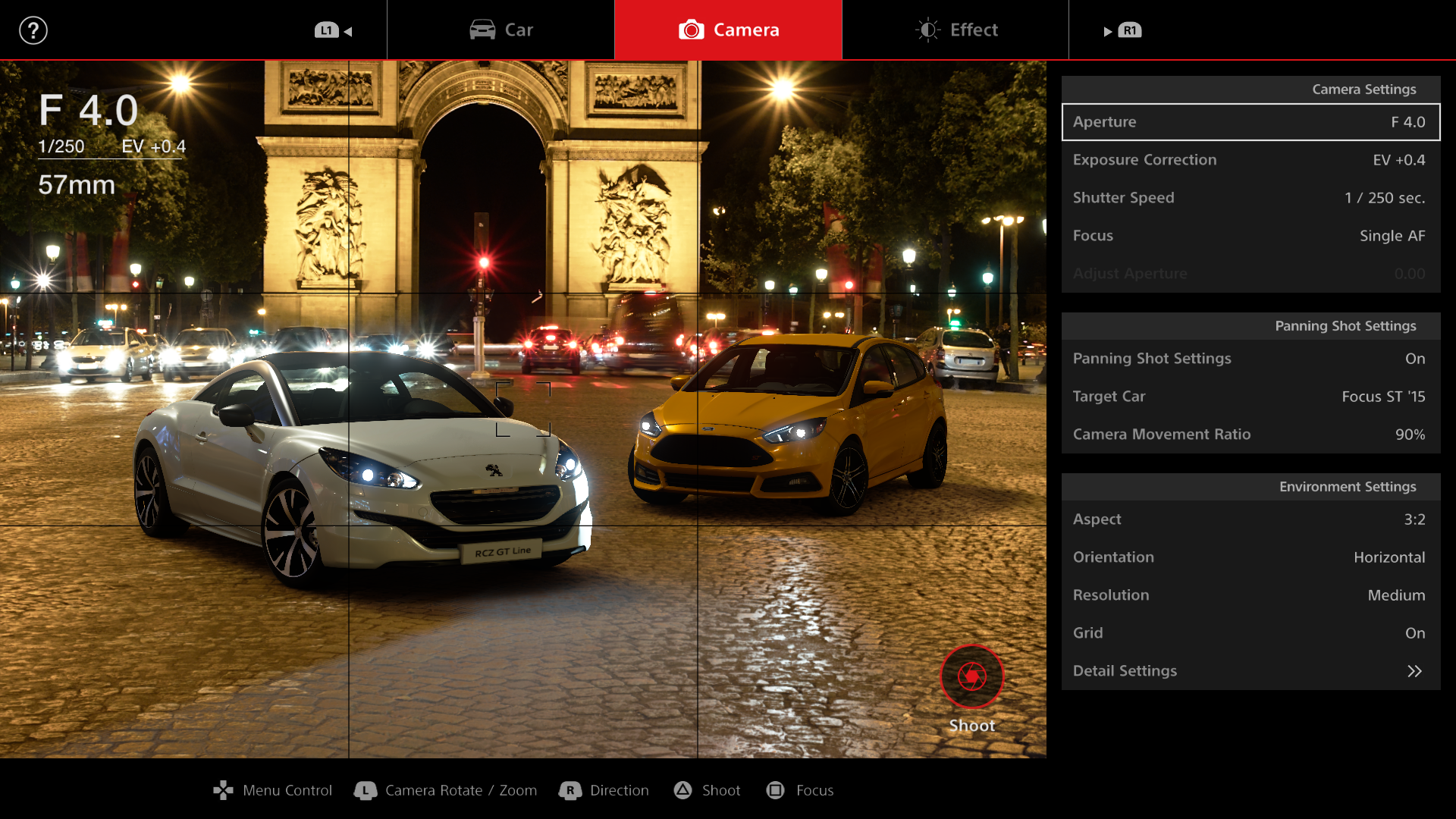 Gran Turismo Sport - Scapes mode in Paris