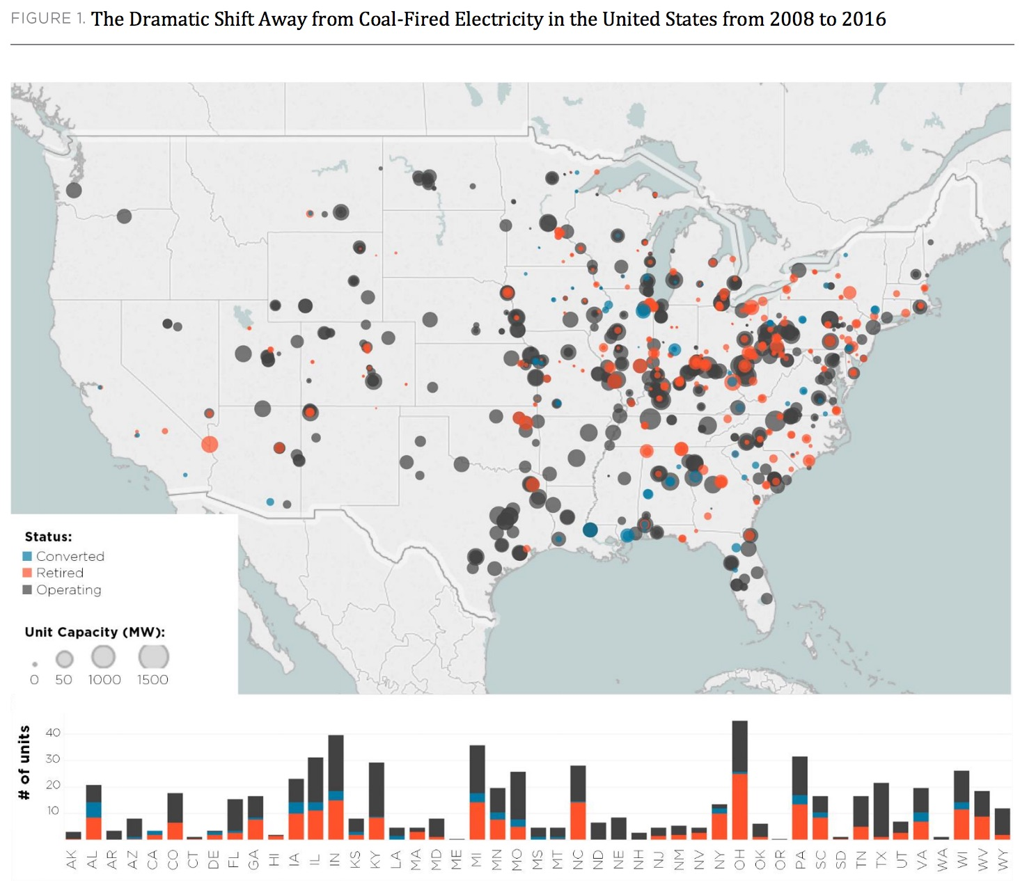Map Of Coalfired Power Plants In The United States Maps US Energy - Us coal map