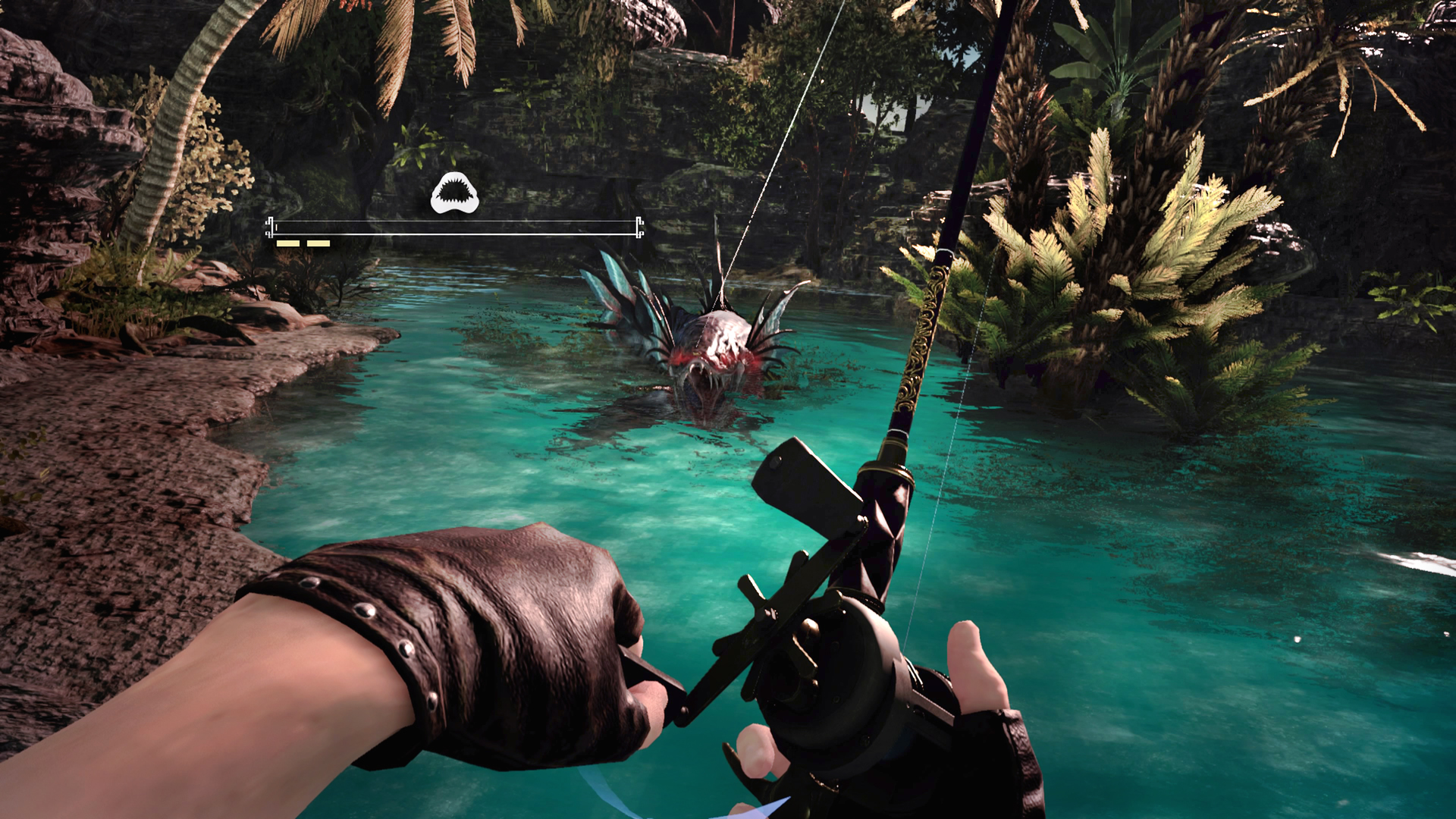 Final fantasy xv continues to grow in strange ways with for Crazy fishing vr