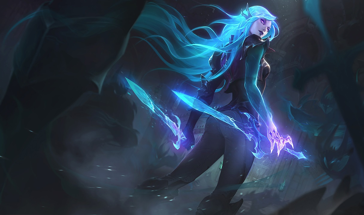Tales from the Rift skins: Death Sworn Viktor, Katarina and Zed ...