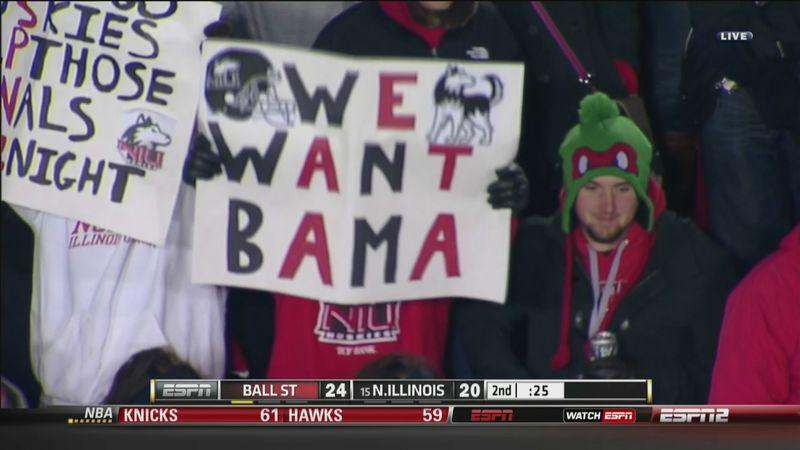20131113203926 college football's 'we want bama' signs meme, explained sbnation com