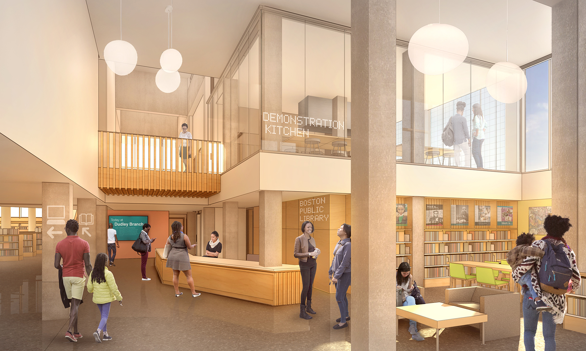 dudley library branch redo is the best boston area new development