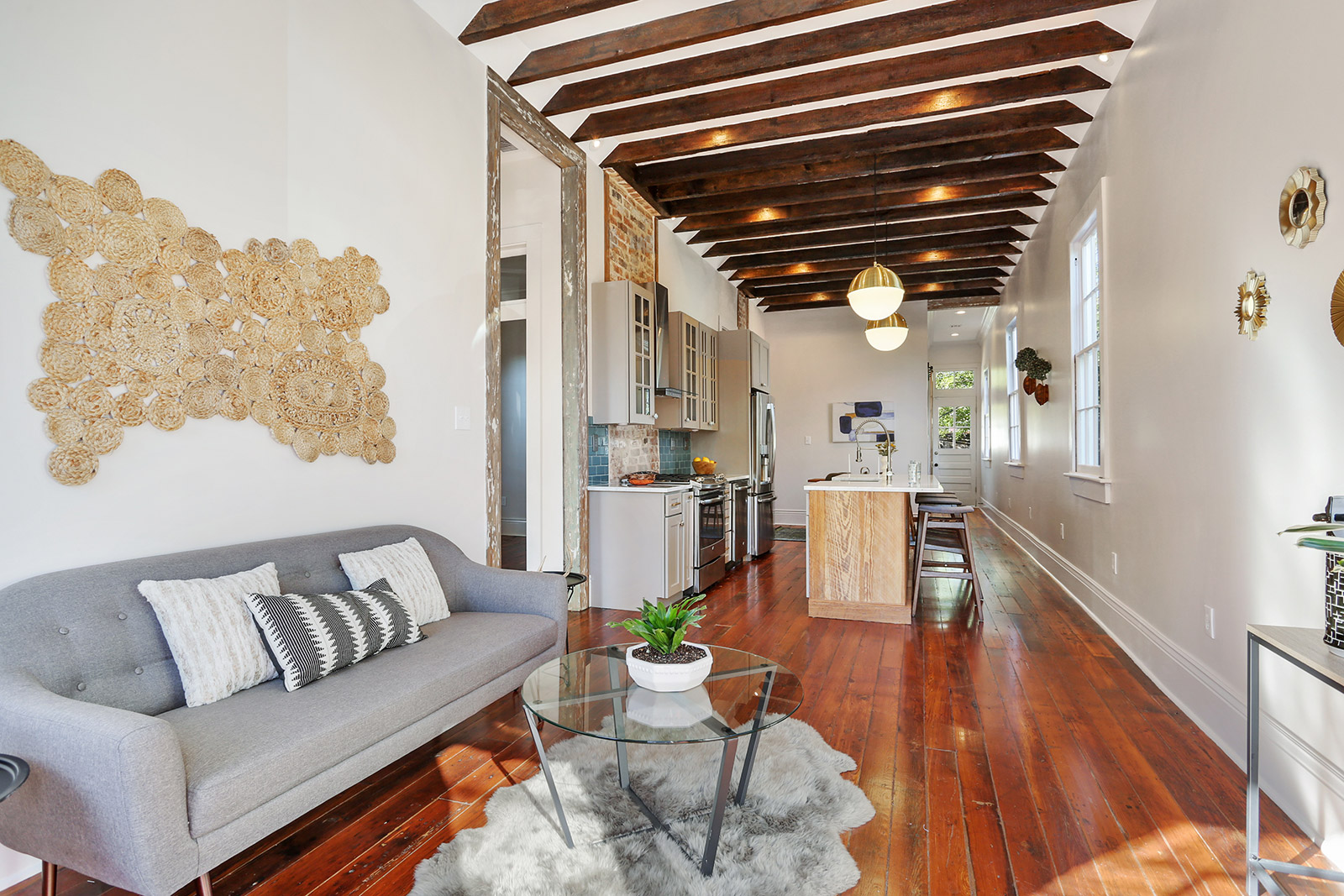 this vibrant cottage in the bywater hits the market at 335k