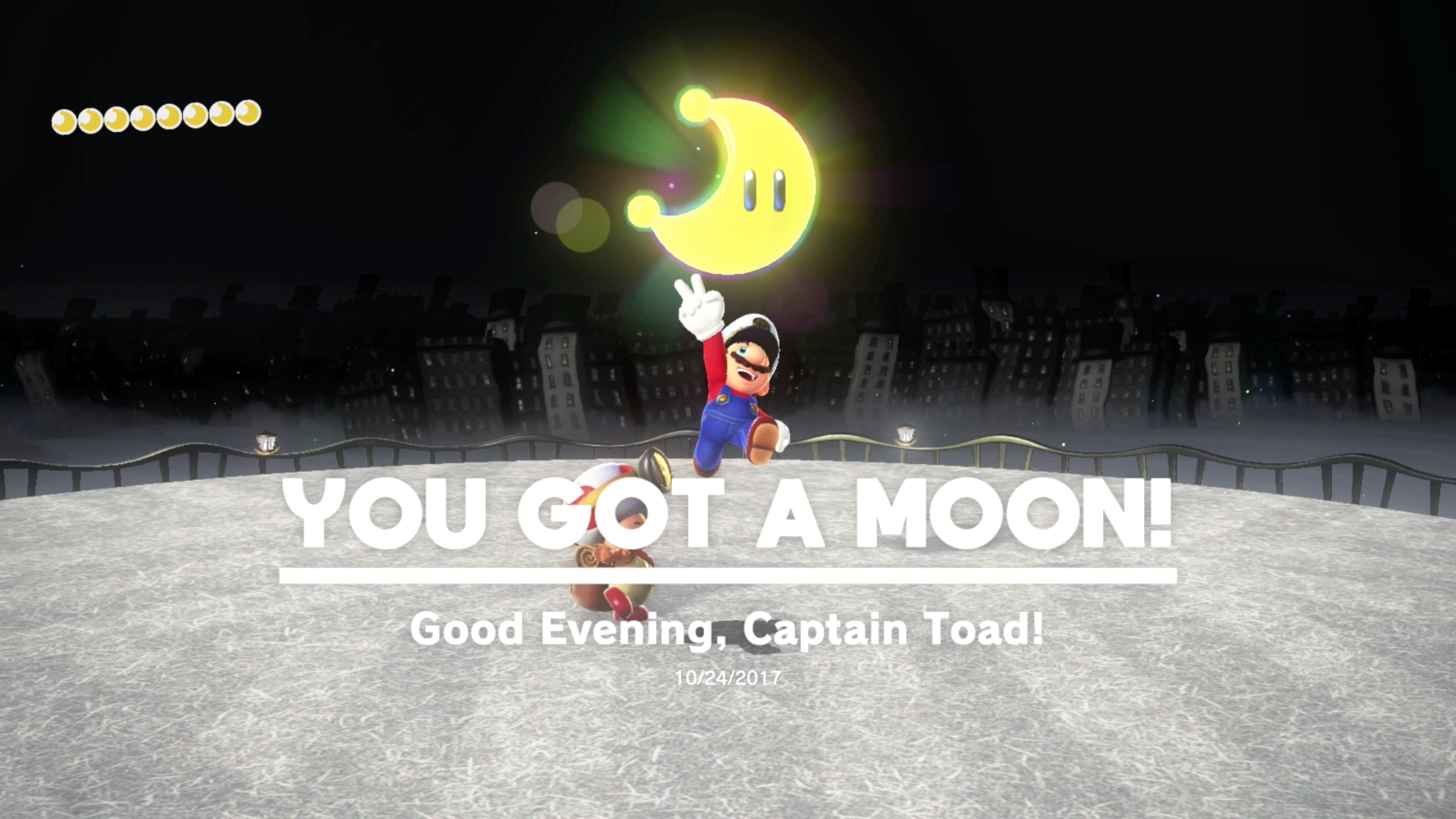 Super Mario Odyssey Guide Cap Kingdom All Power Moon