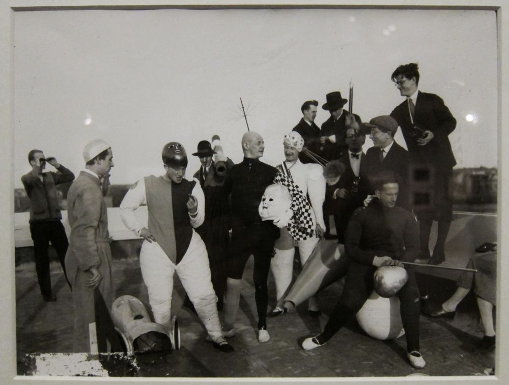 Definitive proof nobody did costume parties like the Bauhaus